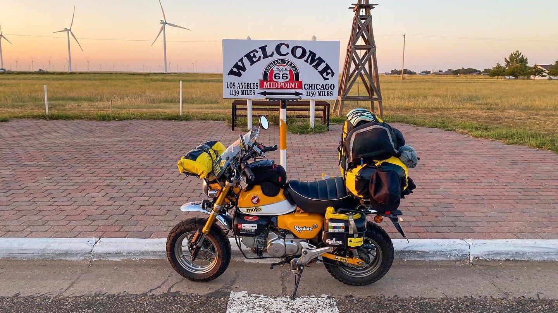 Mini moto de André Sousa