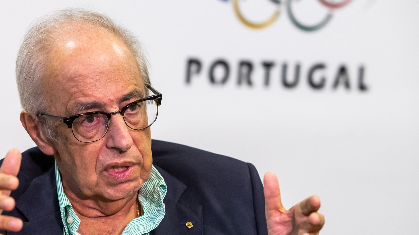 O presidente do Comité Olímpico de Portugal (COP), José Manuel Constantino, em entrevista à Lusa, na sede do COP, em Lisboa, 23  de junho de 2021. (ACOMPANHA TEXTO DO DIA  20 DE JULHO DE 2021) JOSE SENA GOULAO/LUSA