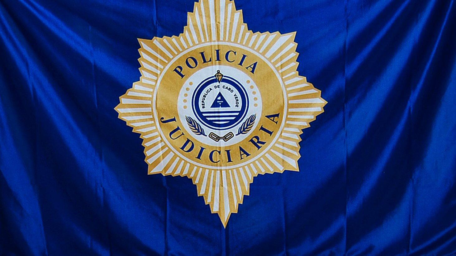 Logo da Polícia Judiciária de Cabo Verde, Cidade da Praia, 12 de outubro de 2011.  LUSA