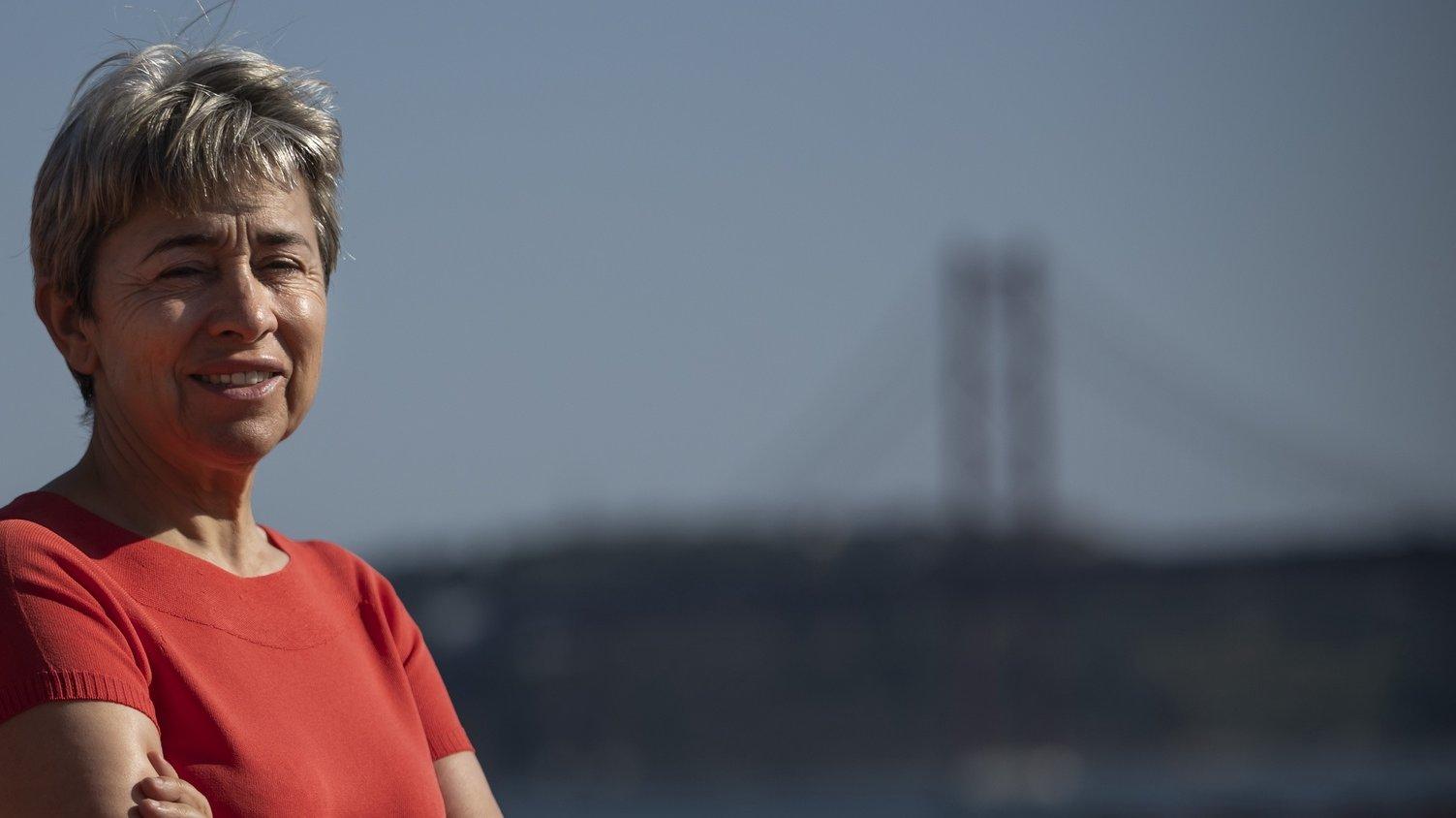 A secretária de Estado das Comunidades Portuguesas, Berta Nunes, posa para a fotografia durante uma entrevista à agência Lusa, no Palácio das Necessidades, em Lisboa, 15 de julho de 2020. (ACOMPANHA TEXTO DA LUSA DO DIA 17 DE JULHO DE 2020). JOSÉ SENA GOULÃO/LUSA