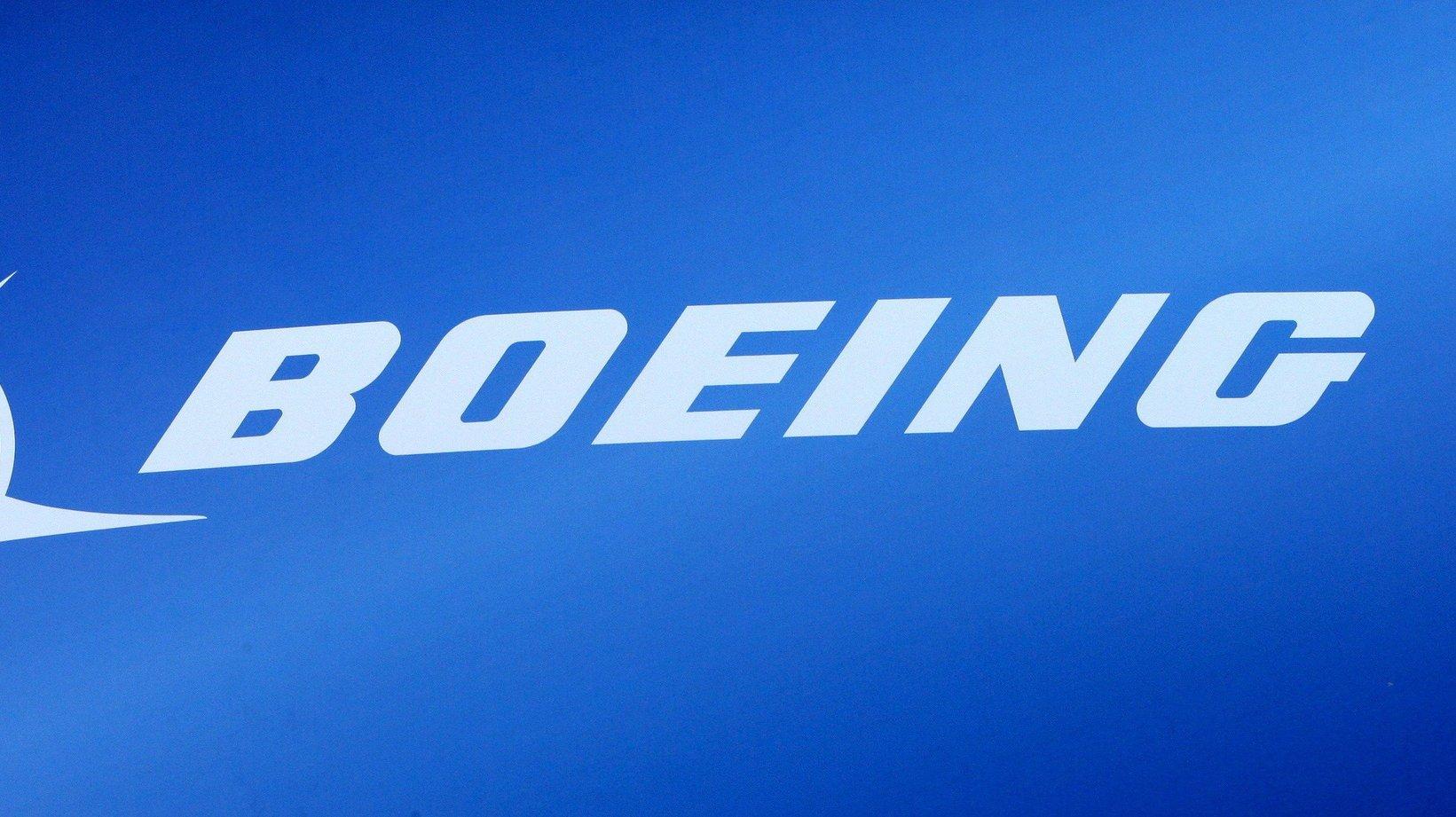 logotipo da empresa BOEING