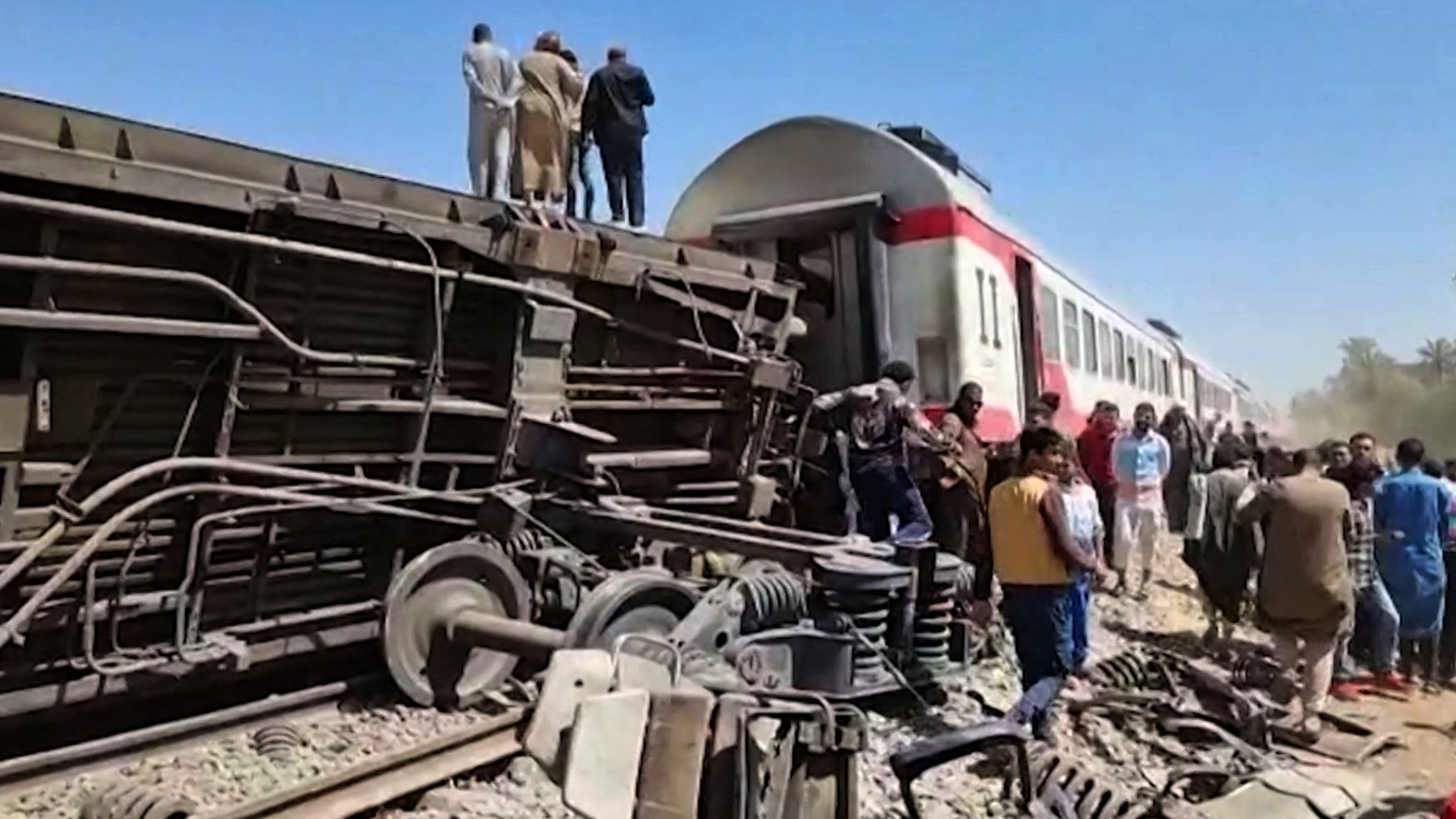 EGYPT-ACCIDENT-RAIL