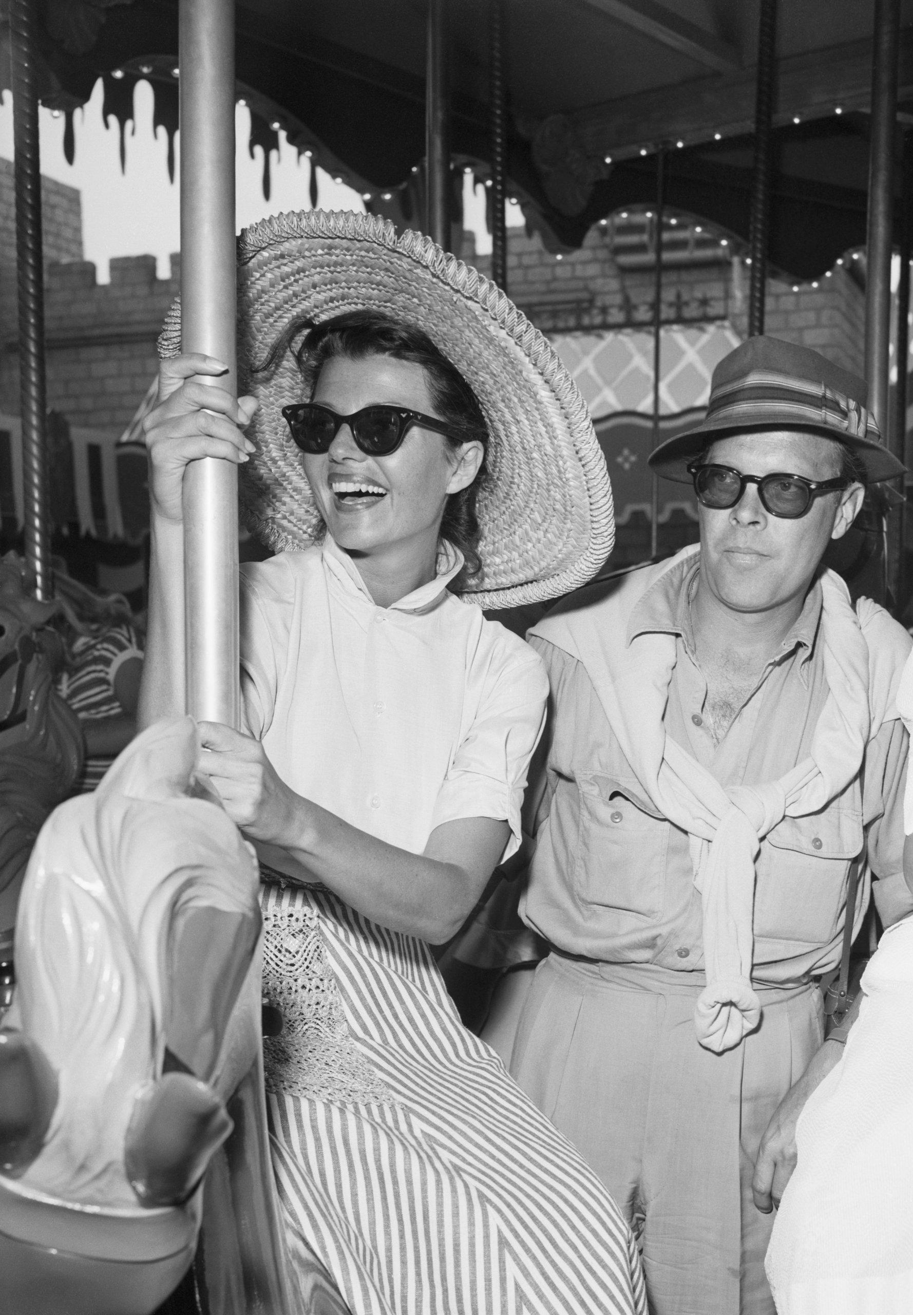 Dick Haymes and Rita Hayworth on Carousel