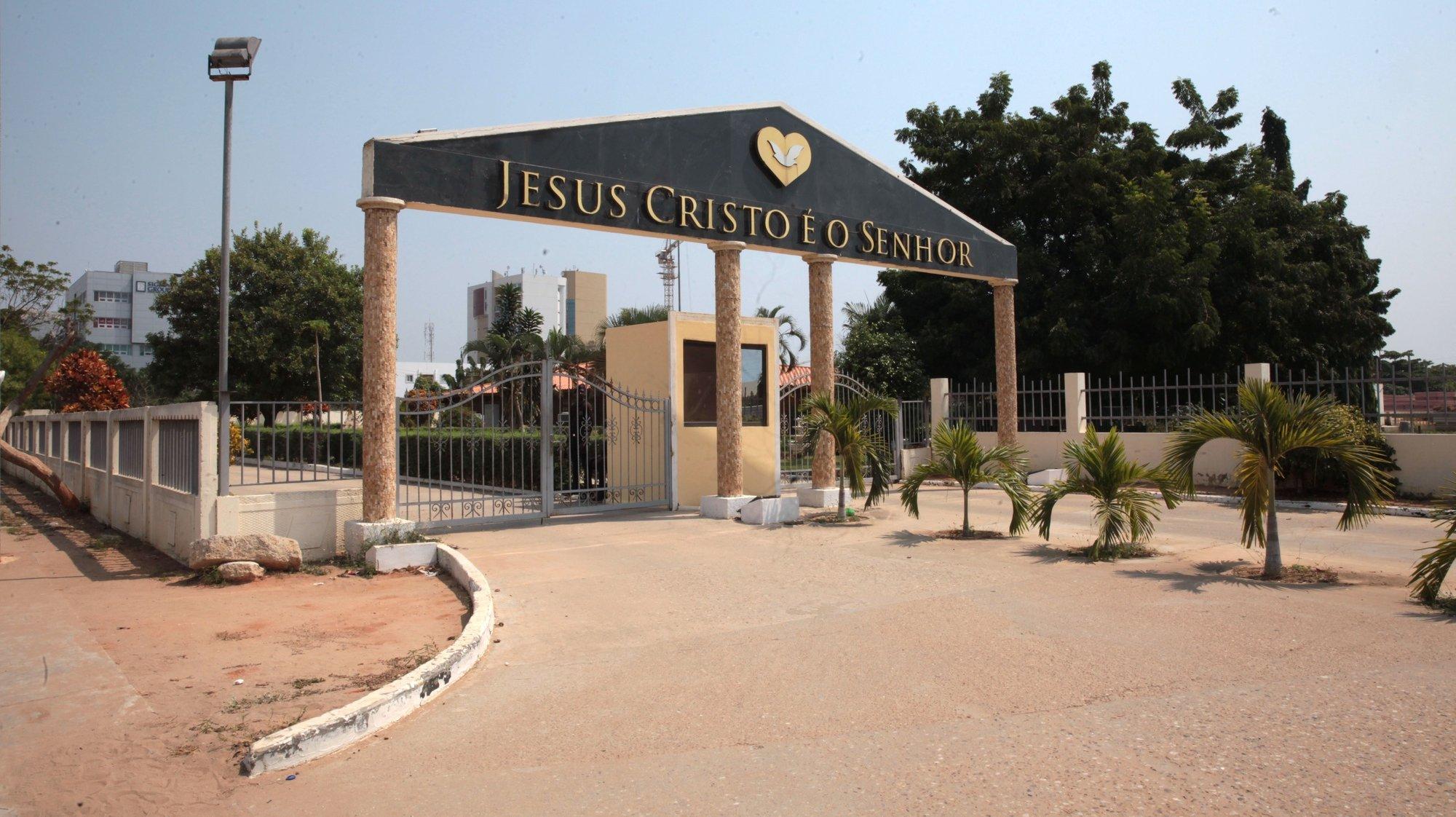 Instalações da Igreja Universal do Reino de Deus ( IURD ) em Luanda, 24 de Julho de 2020. ( ACOMPANHA TEXTO DO DIA 25 DE JULHO DE 2020 ). AMPE ROGÉRIO/LUSA
