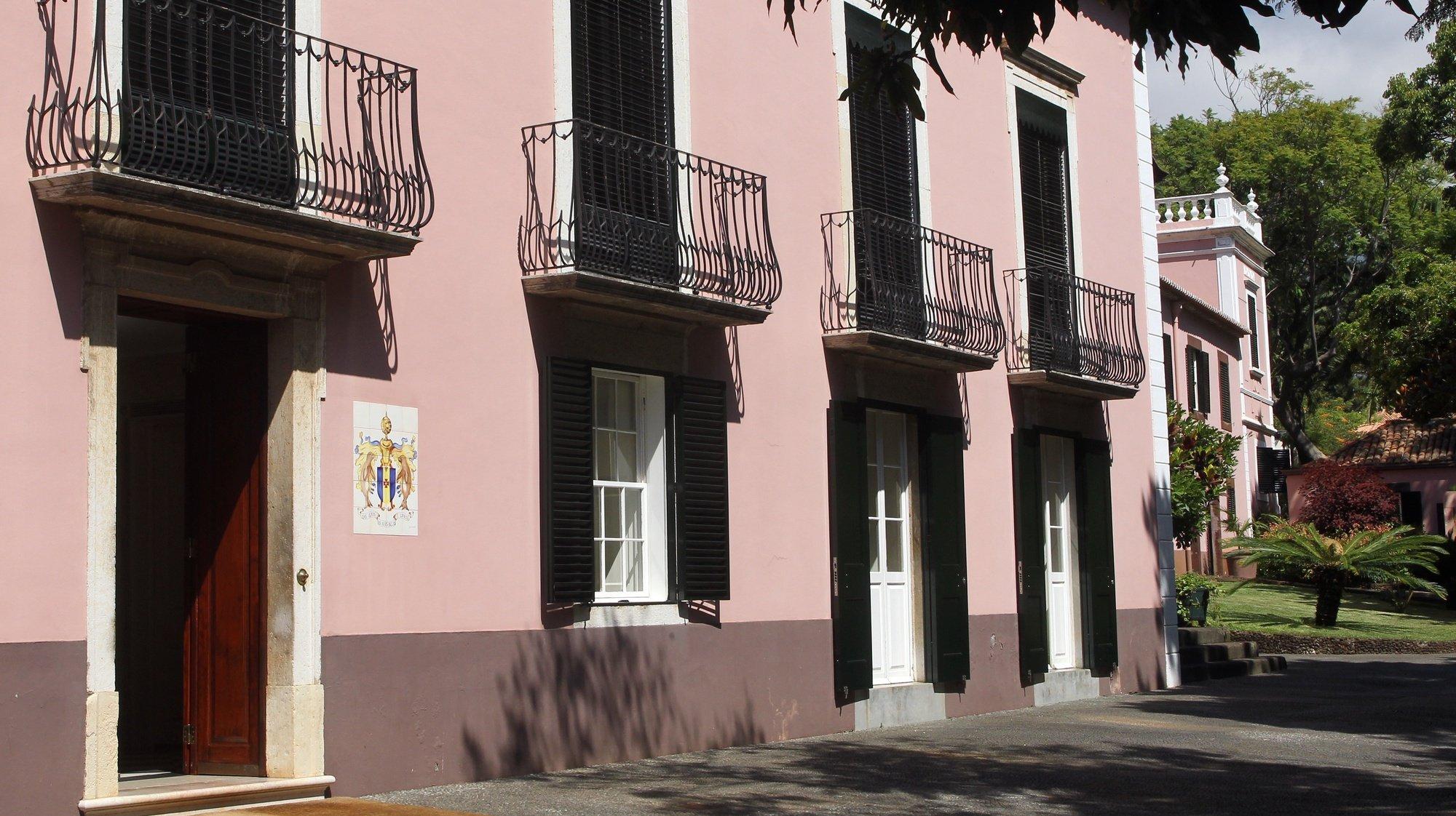 A Quinta Vigia, é atualmente a residência oficial do Governo Regional da Madeira, Funchal, Ilha da Madeira, 17 de março de 2021. A Quinta Vigia, é também conhecida como Quinta das Angústias e Quinta Lambert. HOMEM GOUVEIA/LUSA