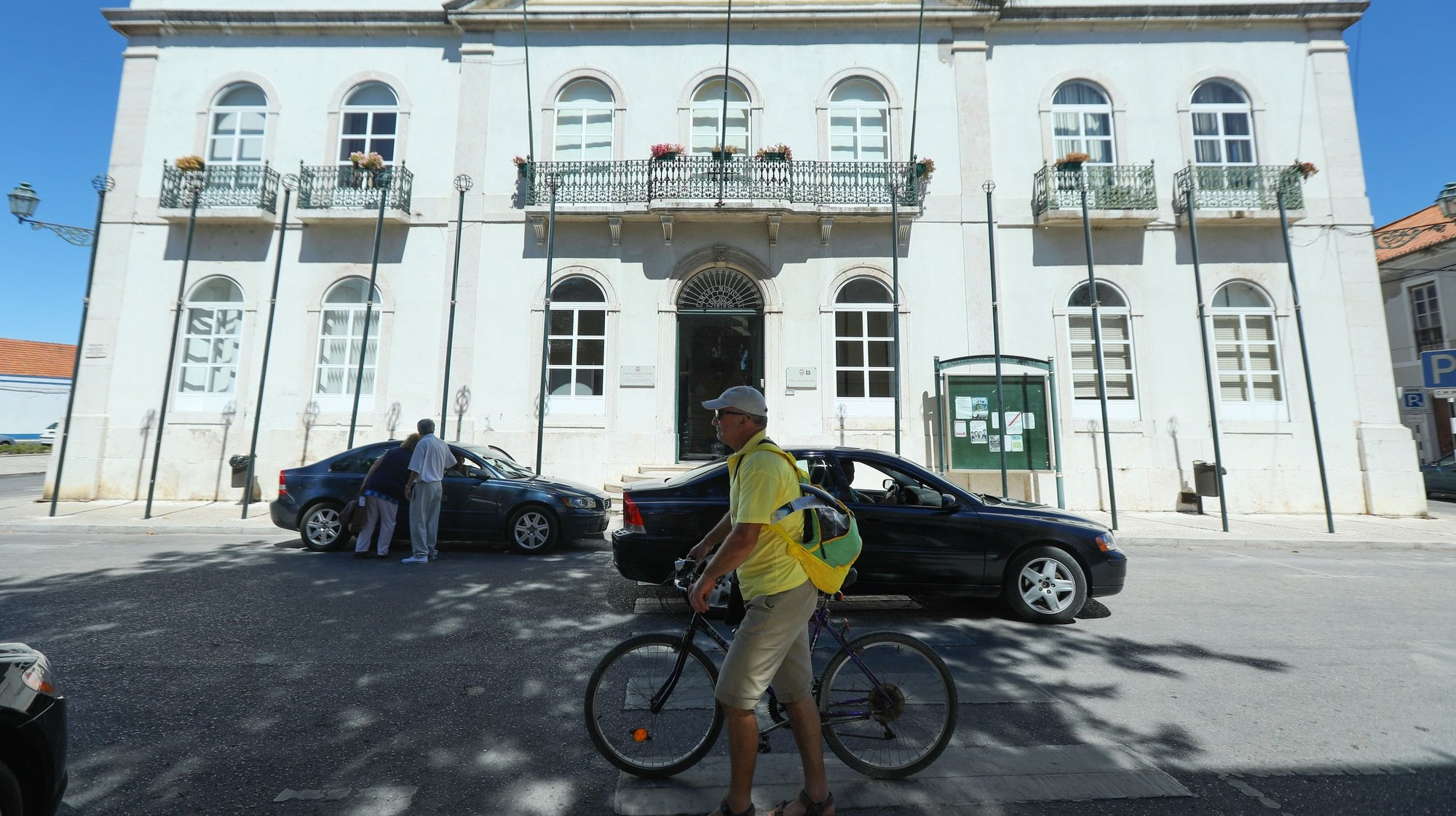 Edifício da Câmara Municipal do Montijo, 4 de agosto de 2017. MIGUEL A. LOPES/LUSA
