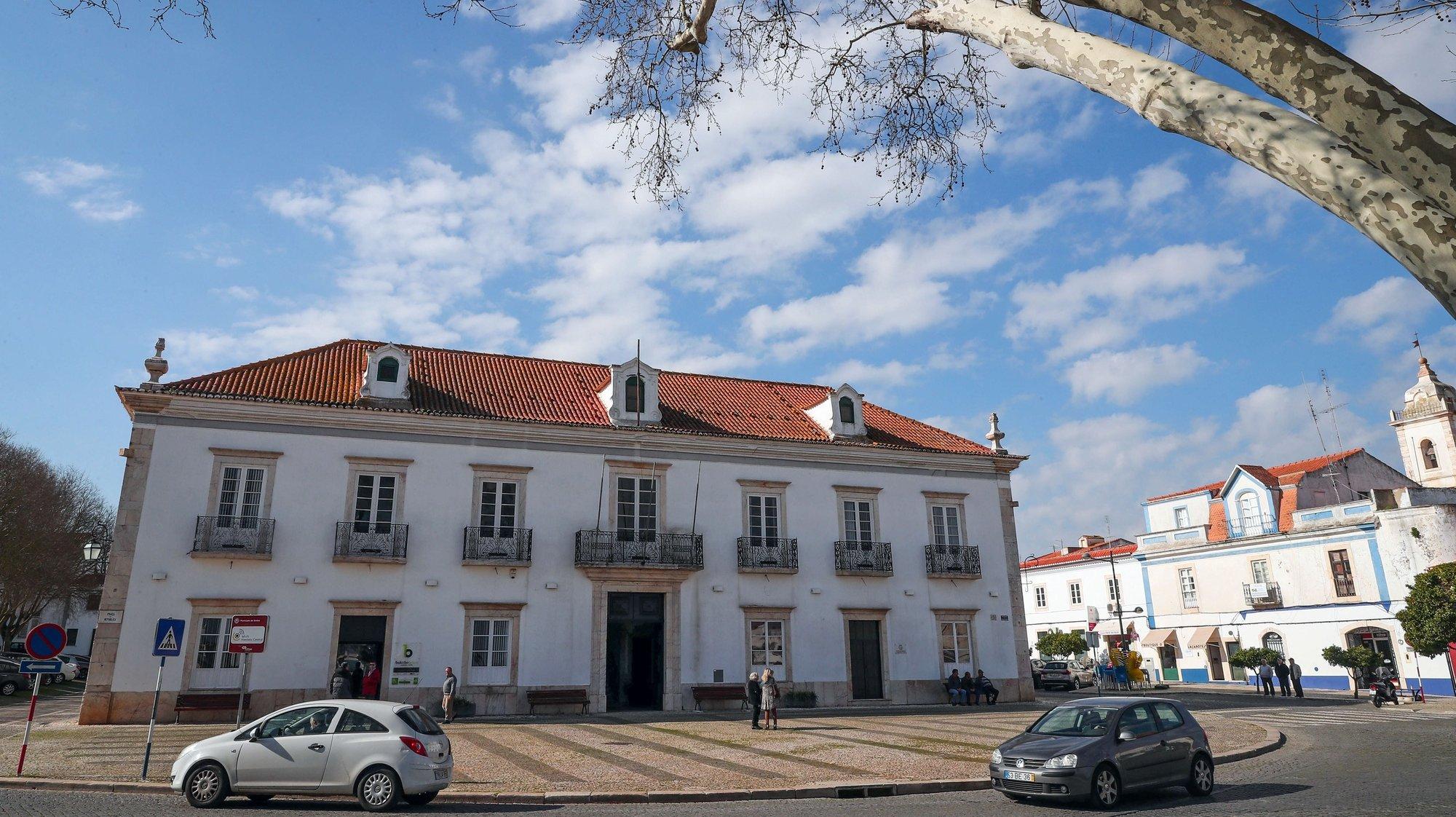 Fachada da Câmara Municipal de Borba, Borba, 20 de fevereiro de 2020. NUNO VEIGA/LUSA