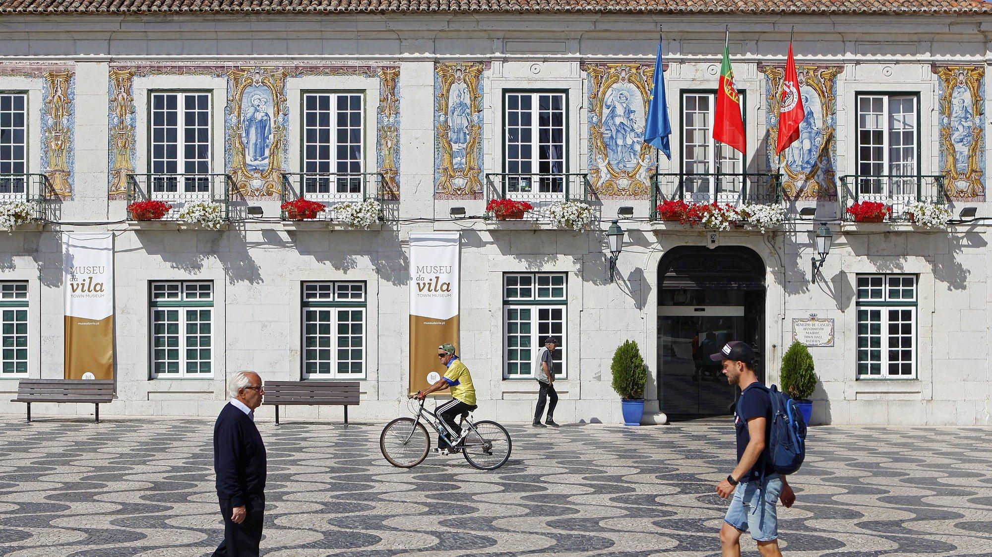 Edifício da Câmara Municipal de Cascais, 16 de junho de 2017. ANTÓNIO PEDRO SANTOS/LUSA