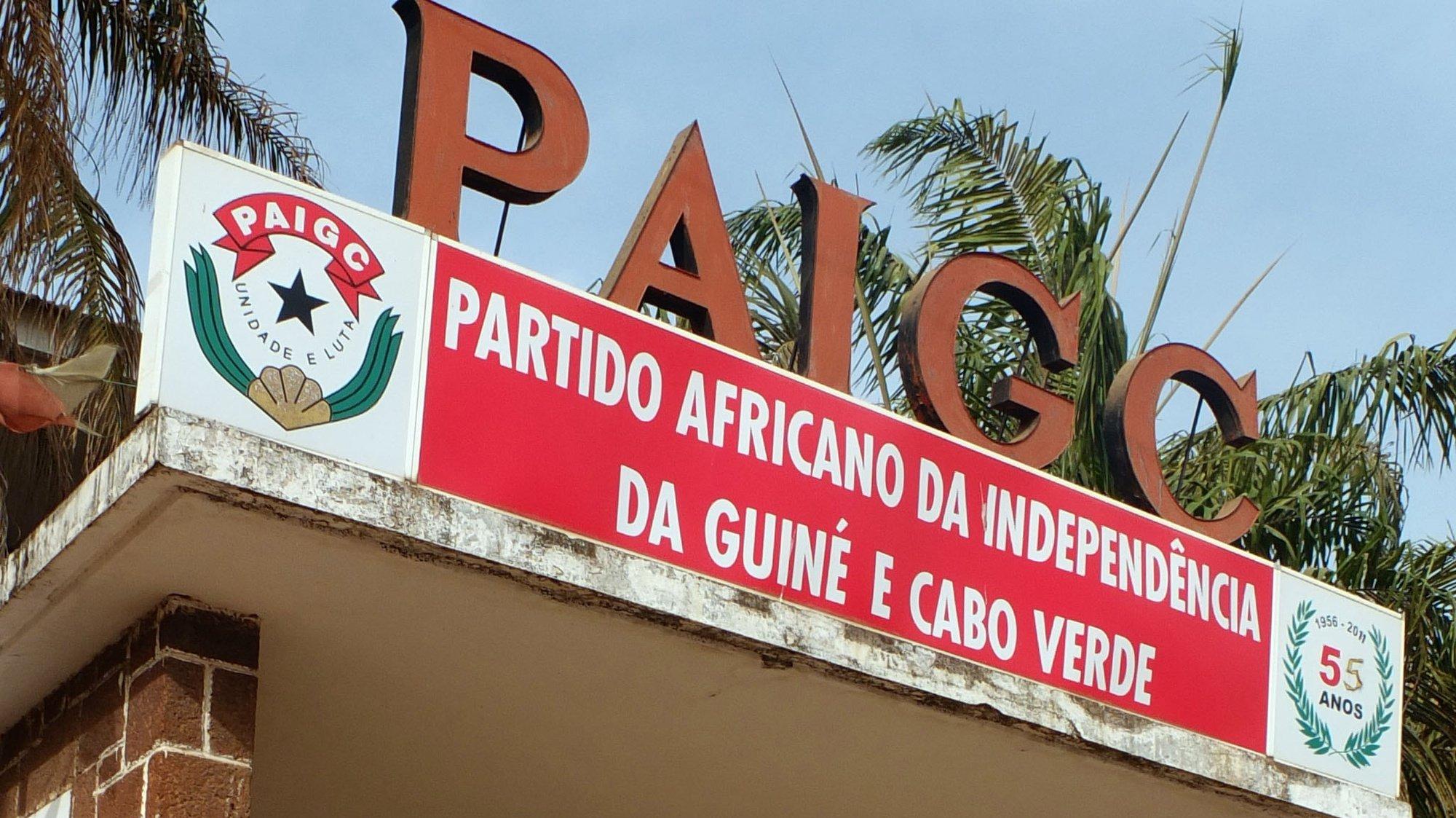 Sede do PAIGC (Partido Africano para a Independência da Guiné e Cabo Verde), Bissau, Guiné-Bissau, 12 de junho de 2015. LUÍS FONSECA/LUSA