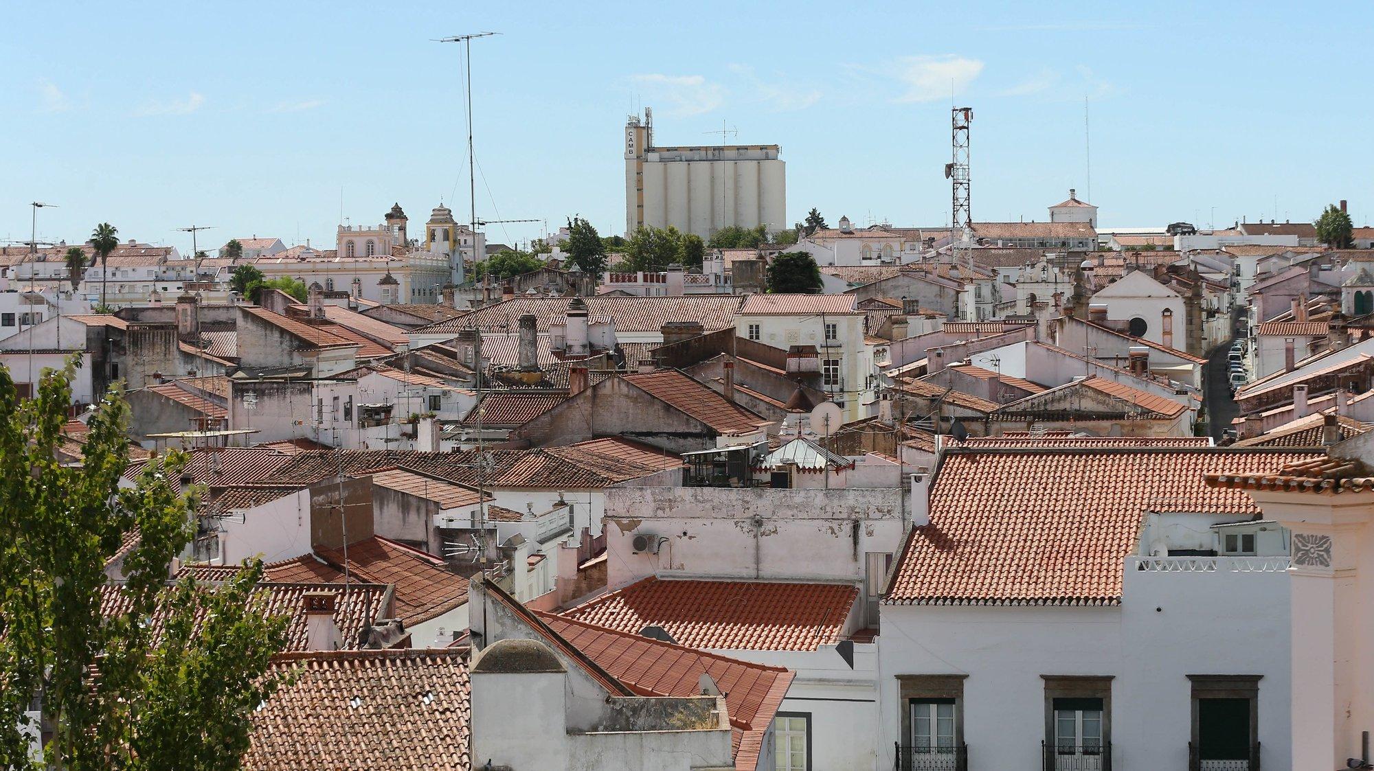 Vista geral a partir do Castelo de Moura, 17 de setembro de 2017. NUNO VEIGA/LUSA