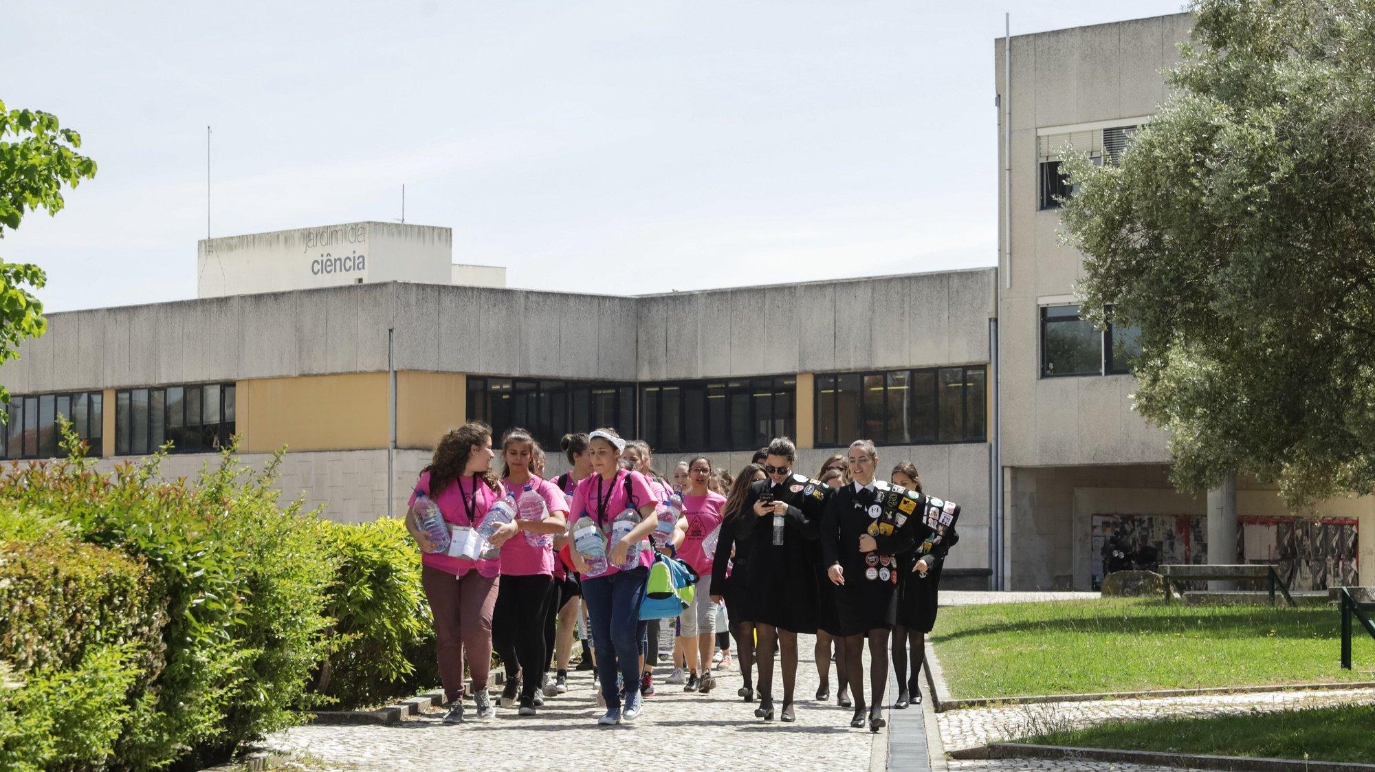 Alunos da Universidade de Aveiro, 3 de maio de 2017. PAULO NOVAIS/LUSA