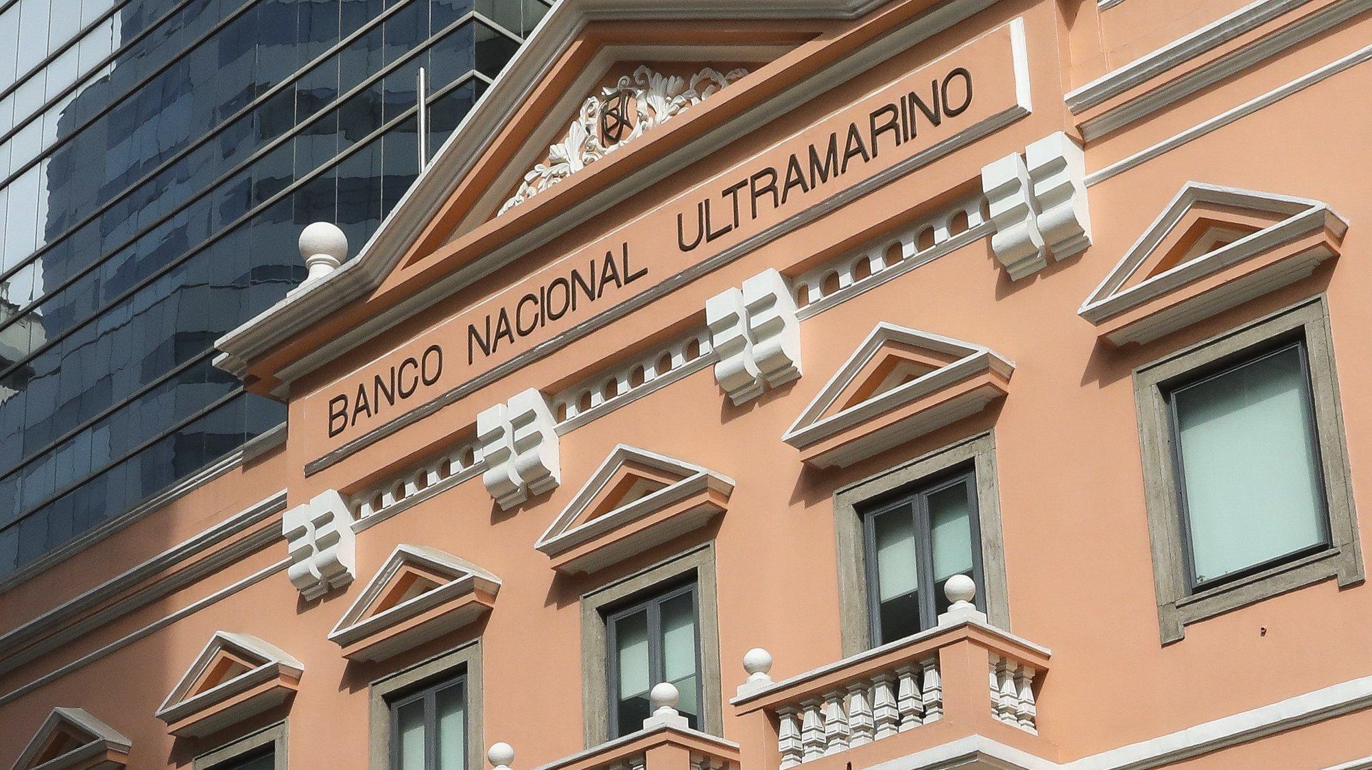 Fachada do edifício do Banco Nacional Ultramarino em Macau, China.17 de dezembro de 2019. JOÃO RELVAS/LUSA