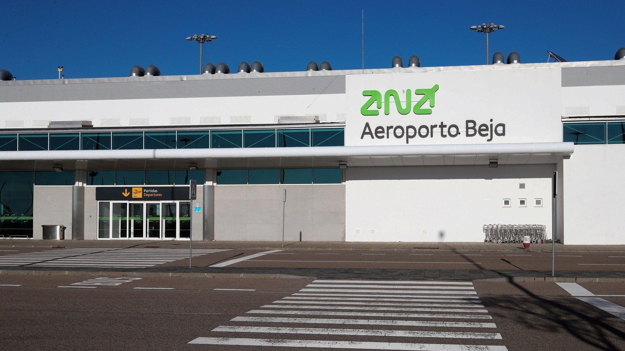 Terminal do Aeroporto de Beja, 21 de janeiro de 2021. NUNO VEIGA/LUSA