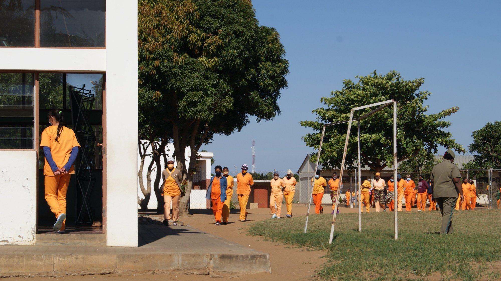 Estabelecimento Penitenciário Especial para Mulheres de Maputo, Moçambique, 16 de junho de 2021. A ministra da Justiça anunciou hoje a criação de uma comissão de inquérito para investigar denúncias de uma alegada rede de exploração sexual em que guardas prisionais forçam mulheres reclusas a sair de uma cadeia de Maputo para se prostituírem, Maputo. (ACOMPANHA TEXTO) LUISA NHANTUMBO/LUSA