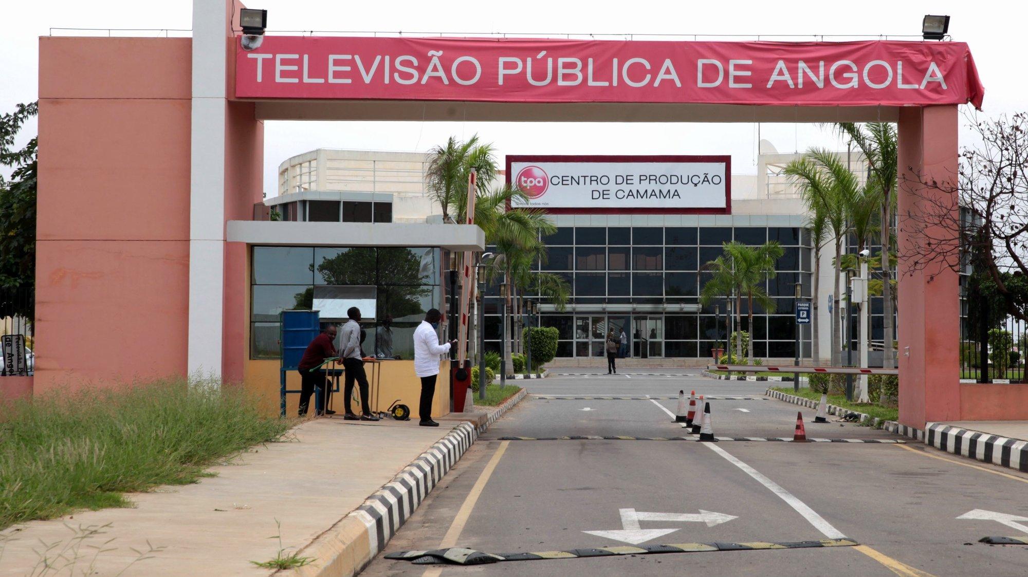 Televisão Pública de Angola (TPA)  28 de abril de 2020, em Luanda, Angola.   (ACOMPANHA TEXTO ?????  )  AMPE ROGÉRIO/LUSA