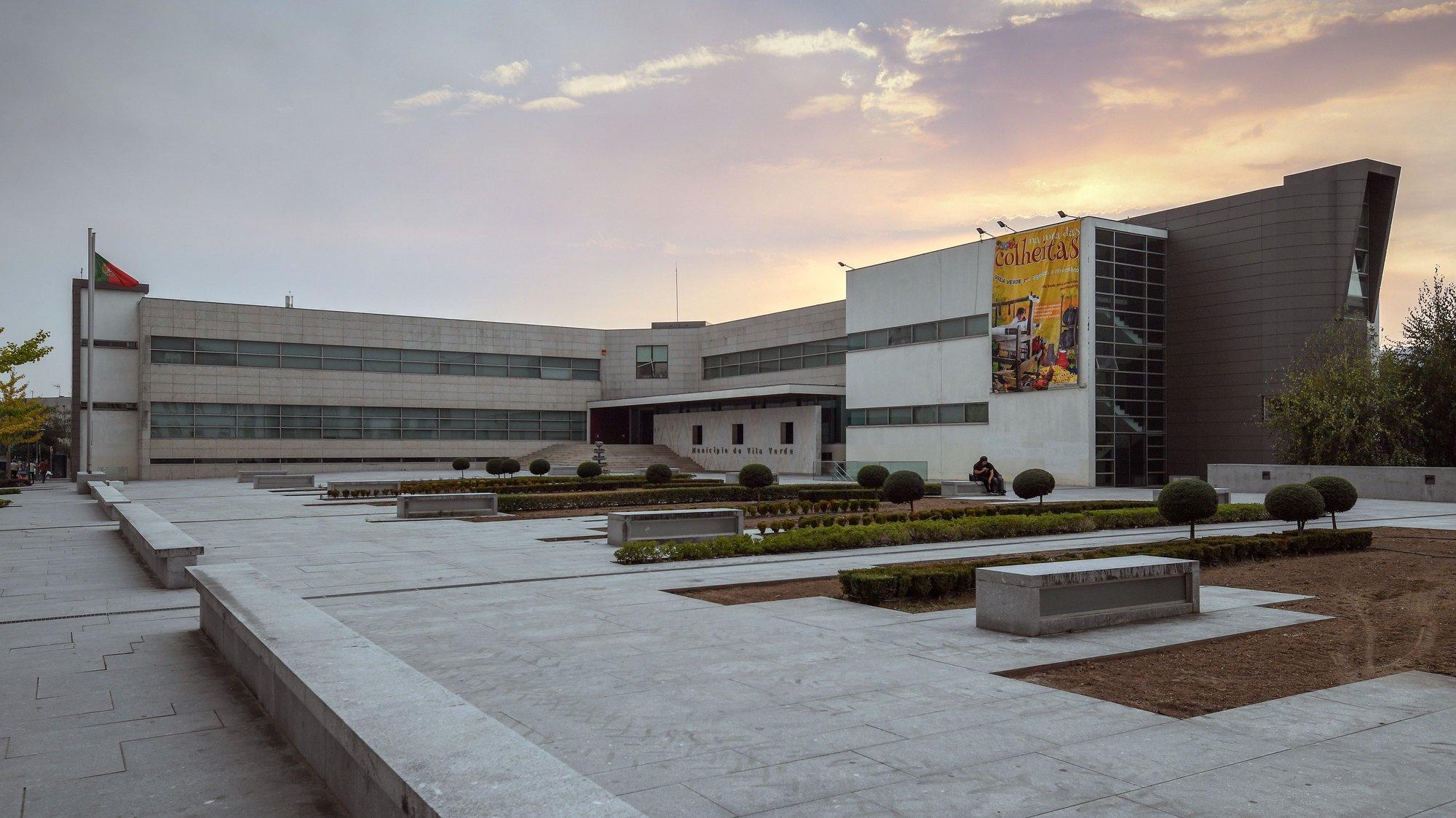Edifício da Câmara Municipal de Vila Verde, 15 de outubro de 2017. HUGO DELGADO/LUSA