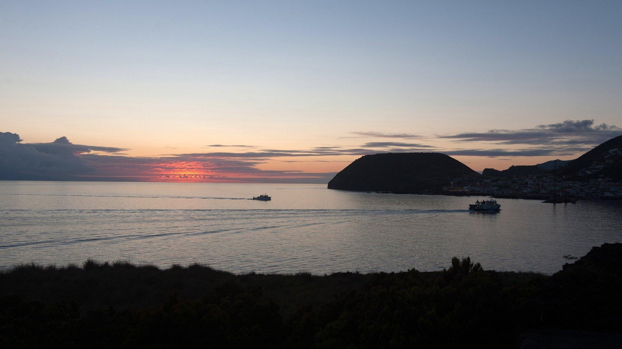 Vista geral de Vila de Velas, ilha de São Jorge, Açores, 15 de Setembro de 2017. Lado sul da ilha em cima freguesia dos Rosais. EDUARDO COSTA / LUSA