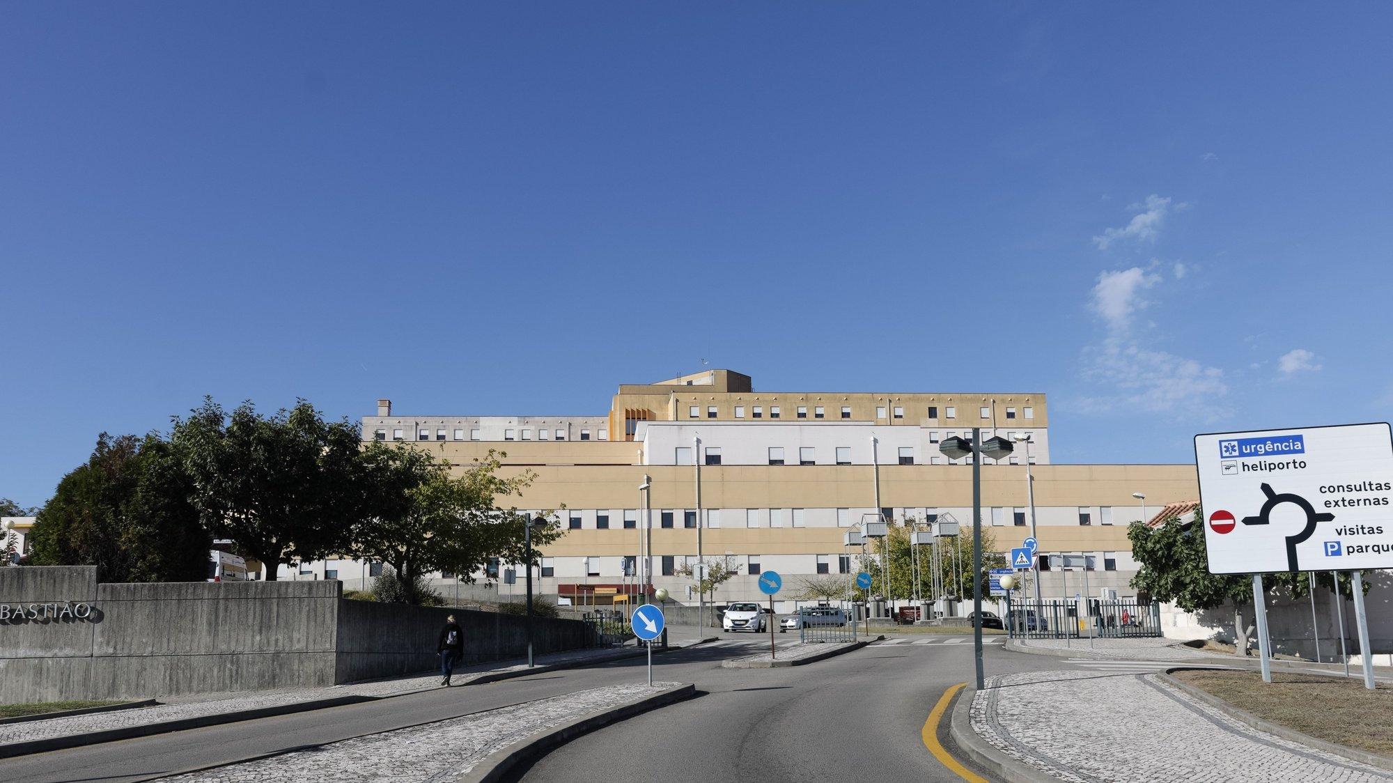 Hospital São Sebastião em Santa Maria da Feira, 22 de setembro de 2017. PAULO NOVAIS/LUSA