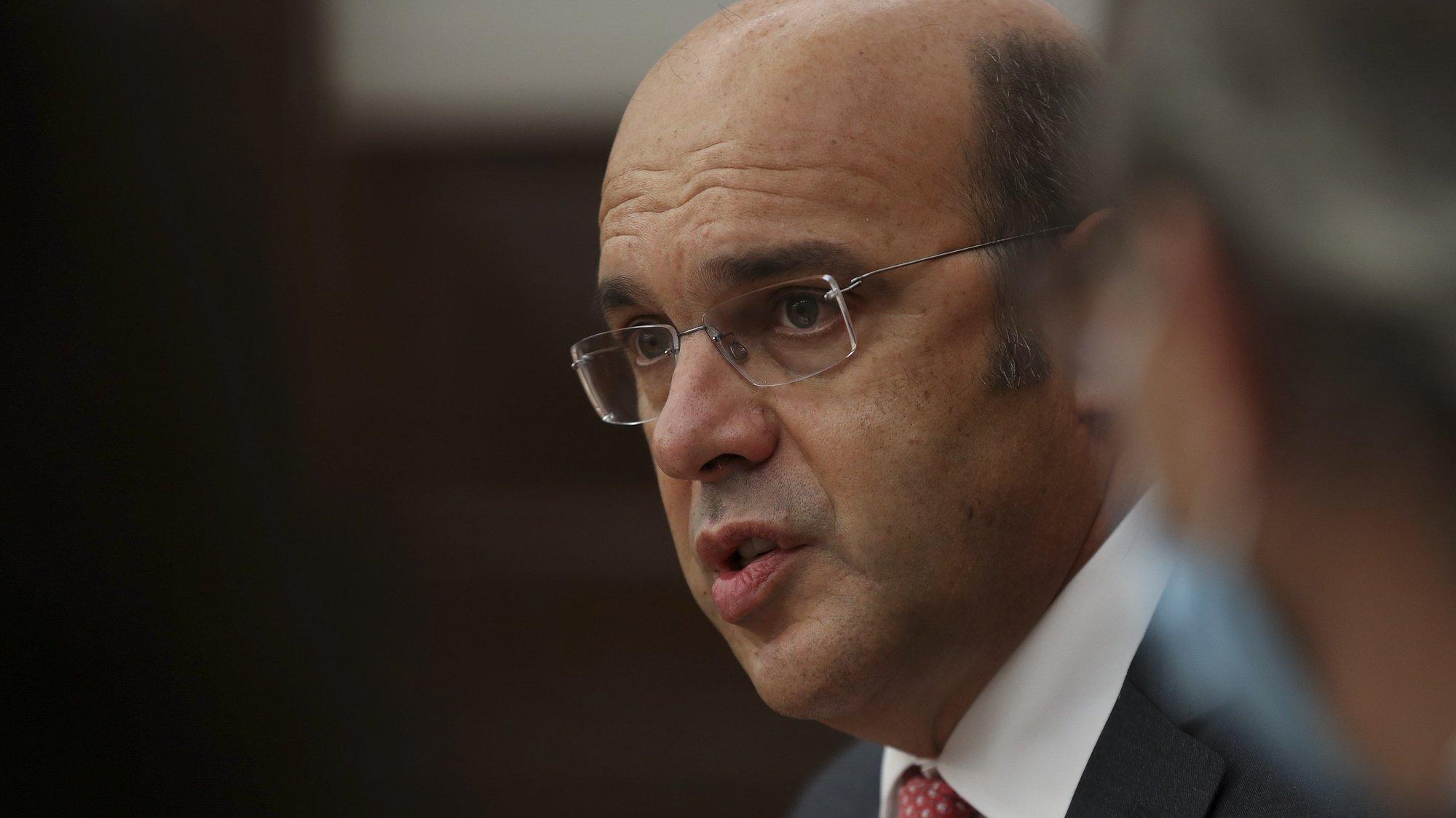 O ministro de Estado, da Economia e da Transição Digital, Pedro Siza Vieira, durante a sua audição na Comissão de Economia, Inovação e Obras Públicas, na Assembleia da República, Lisboa, 22 de outubro de 2020. MANUEL DE ALMEIDA/LUSA