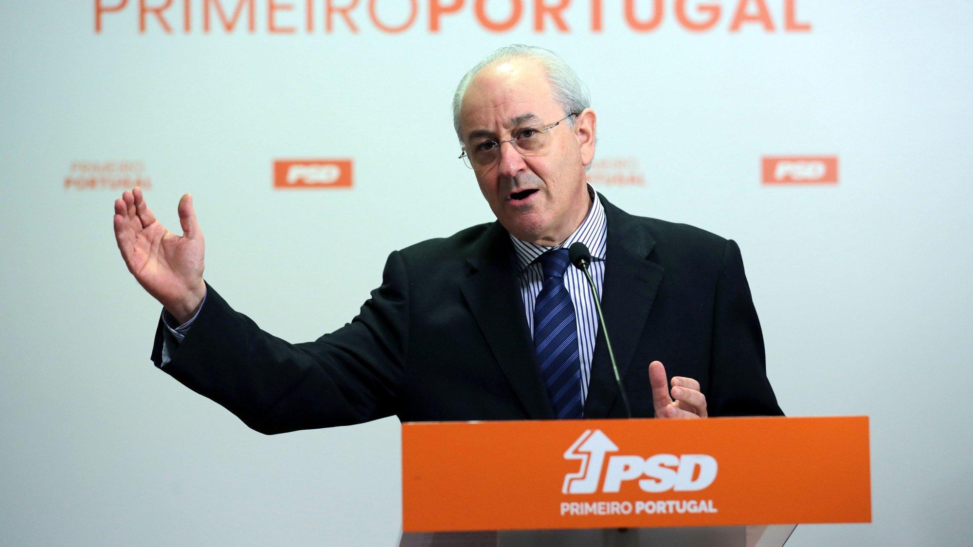 O presidente do PSD Rui Rio durante uma conferencia de imprensa de reação às medidas anunciadas pelo Governo no âmbito da atual situação de pandemia provocada pelo Covid-19, 21 janeiro 2021, Porto. ESTELA SILVA/LUSA