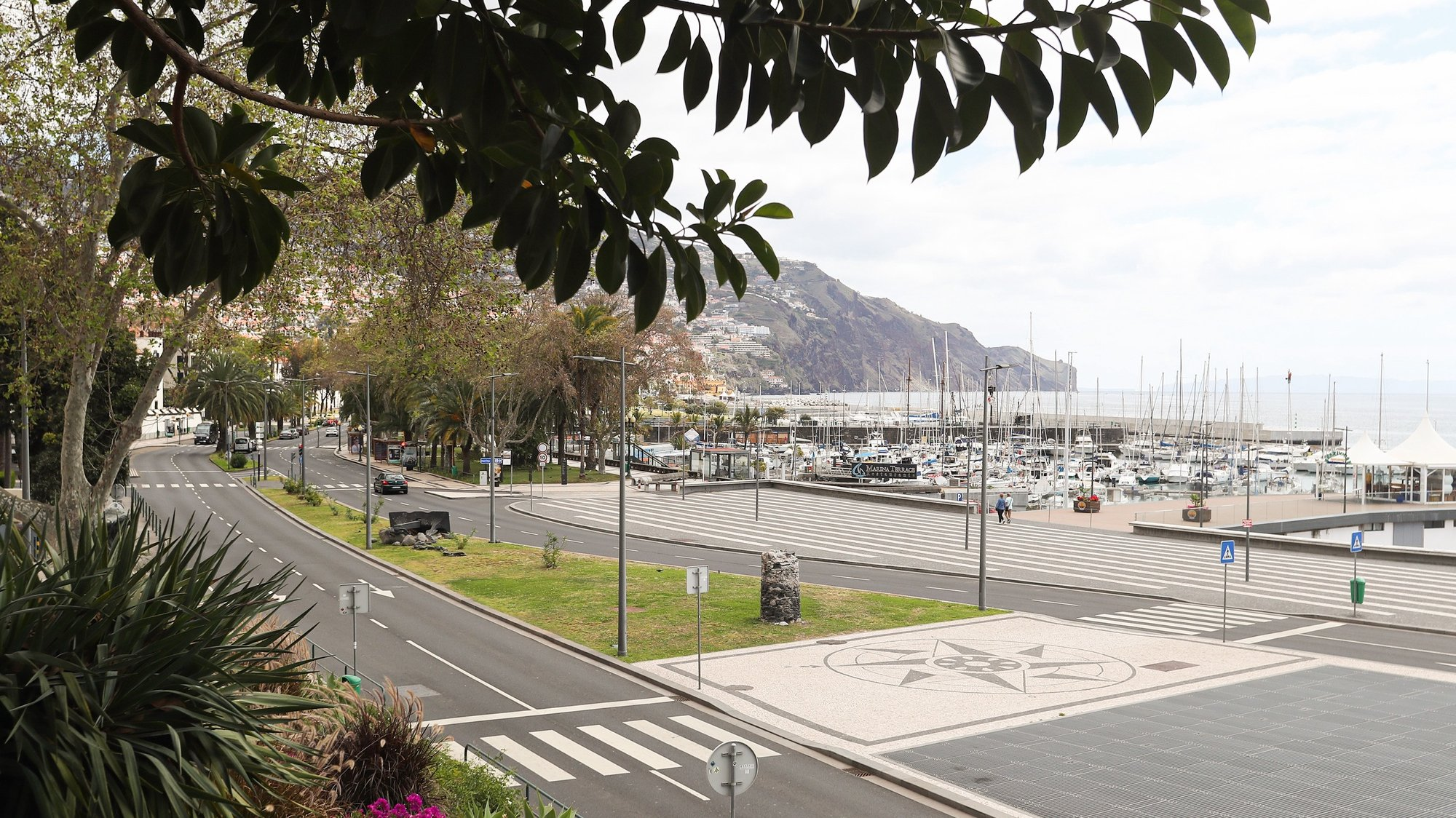 An empty street due to the pandemic of covid-19, in Funchal, Madeira Island, Portugal, 21 March 2020. In Portugal, there are 12 deaths and 1,280 confirmed infections. Portugal is in a state of emergency from 00:00 on March 19th until 23:59 on April 2nd. HOMEM DE GOUVEIA/LUSA