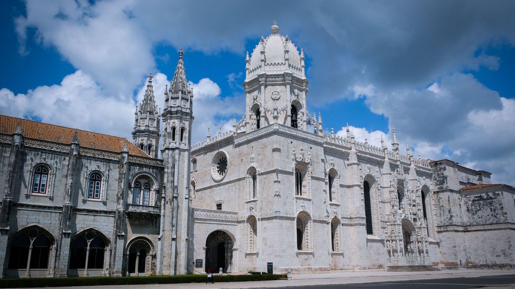 Mosteiro dos Jerónimos em Belém, Lisboa, 27 de abril de 2020.ANTÓNIO COTRIM/LUSA