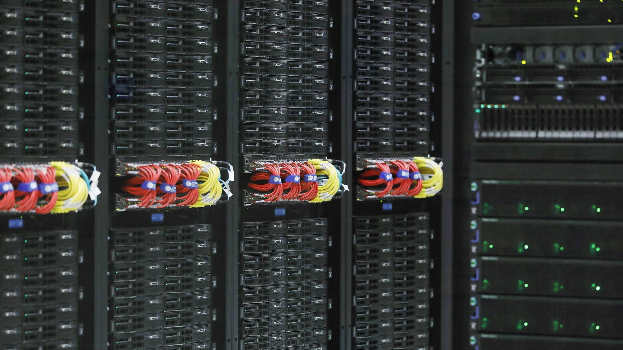 epa06055836 The new 'MareNostrum 4' super computer during its presentation at Supercomputing Center in Barcelona, northeastern Spain, 29 June 2017. With a 34 million euro investment, the computer has a capacity to make 13,677 trillion operations per second. It is about 12 times more powerful than its predecessor MareNostrum 3, according to Barcelona Supercomputing Center (BSC).  EPA/Andreu Dalmau