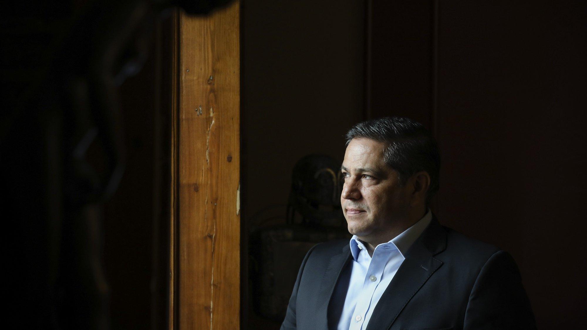 Entrevista a Mário Ferreira, Porto, 14 de maio de 2020. A Prisa anunciou hoje que o empresário Mário Ferreira comprou 30,22% da Media Capital, através da Pluris Investments, numa operação realizada por meio da transferência em bloco das ações por 10,5 milhões de euros. JOSÉ COELHO/LUSA