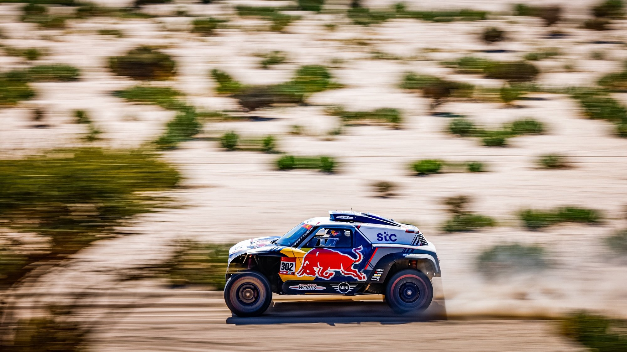 epa08916545 A handout photo made available by ASO of   Stephane Peterhansel and Edouard Boulanger of France in action during the 1st stage of the Dakar 2021 between Jeddah and Bisha, in Saudi Arabia on January 3, 2021.  EPA/Frederic Le Floch HANDOUT via ASO SHUTTERSTOCK OUT HANDOUT EDITORIAL USE ONLY/NO SALES/NO ARCHIVES