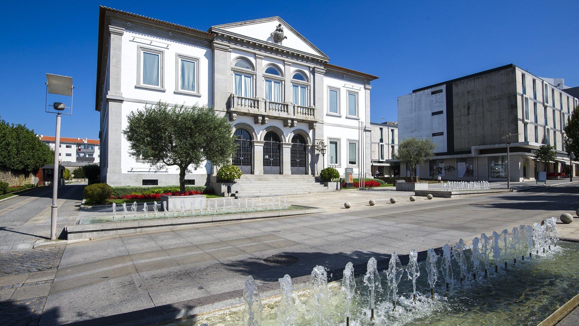 Edifício da Câmara Municipal de Fafe, 01 de setembro de 2017. OCTÁVIO PASSOS/LUSA