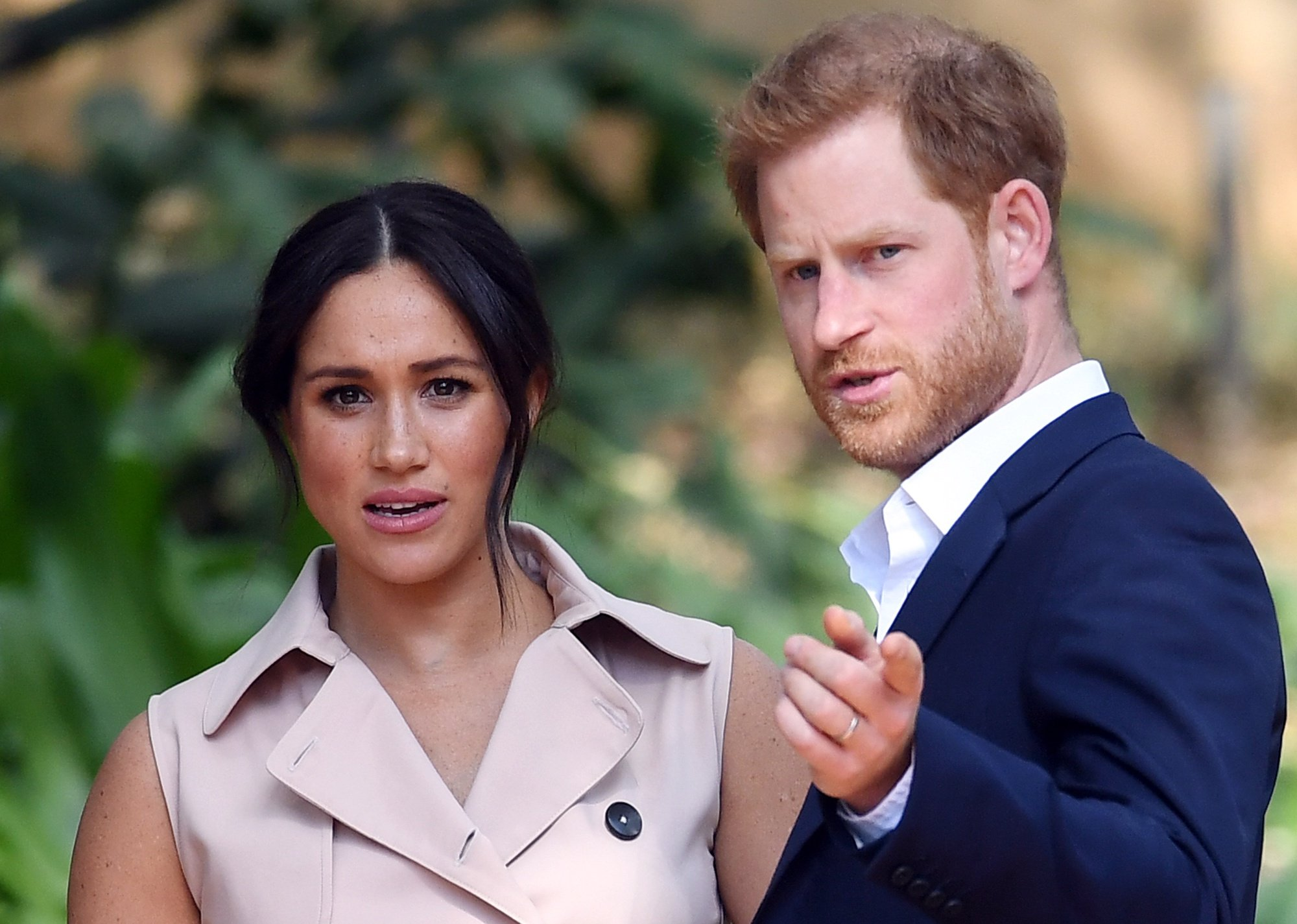 epa08395995 (FILE) Britain's Prince Harry, Duke of Sussex (R) and his wife Meghan, Duchess of Sussex attend a creative industries and business reception at the High Commissioner's residence in Johannesburg, South Africa, 02 October 2019 (reissued 01 May 2020). According to media reports on 01 May 2020, a judge at London's High Court ruled against key claims in a lawsuit brought by the Duchess of Sussex against The Mail on Sunday. The Duchess of Sussex is suing Associated Newspapers, the British tabloid's parent company, over privacy infringement and copyright breach after the Mail on Sunday published a private letter she sent to her father, Thomas Markle, berfore her wedding to Prince Harry.  EPA/FACUNDO ARRIZABALAGA *** Local Caption *** 55752202