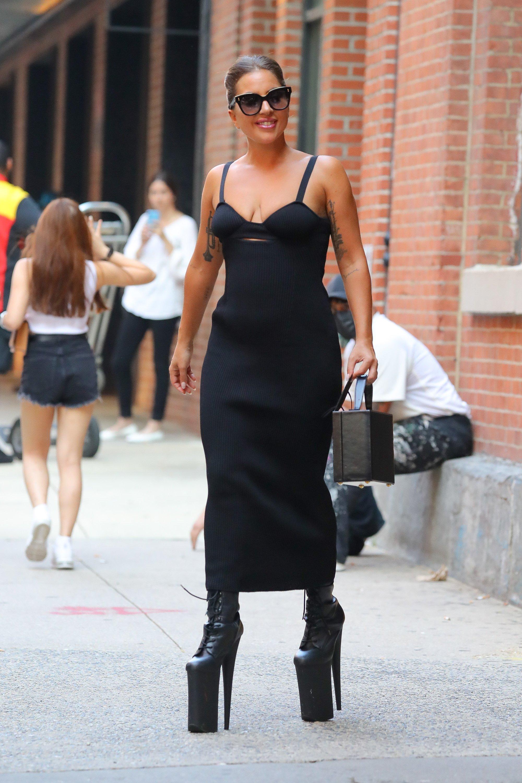 Celebrity Sightings In New York City - July 26, 2021