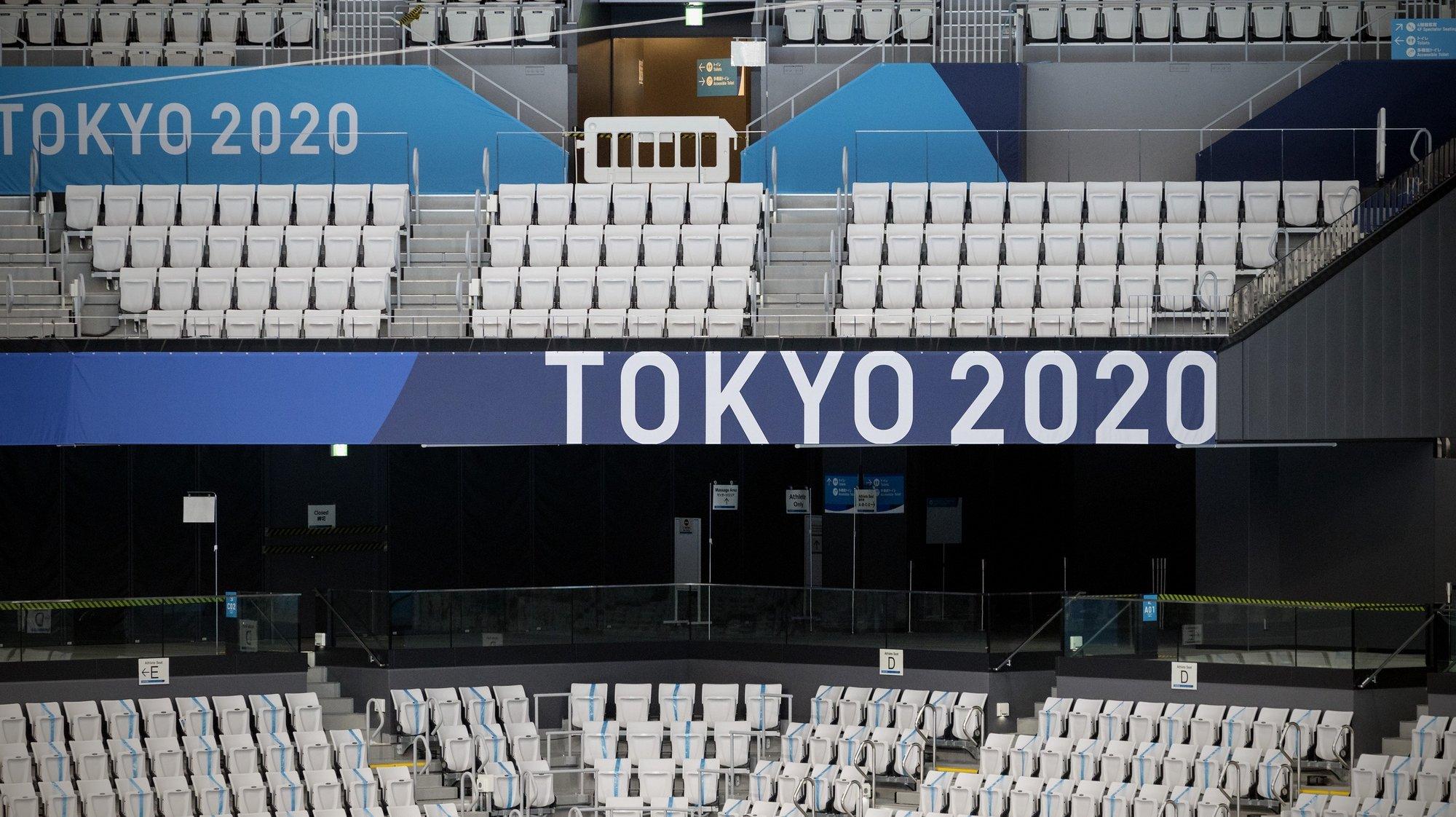 A um dia do início dos Jogos Olímpicos, Tóquio parece viver alheado do maior evento desportivo do mundo, algo só possível numa sociedade altamente respeitadora, face a um vírus que levou ao inédito adiamento da competição, Tóquio, Japão, 22 de julho de 2021. JOSÉ COELHO/LUSA