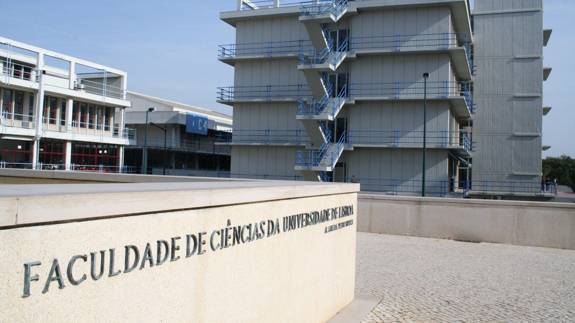 Faculdade de Ciências da Universidade de Lisboa a 21 de Janeiro de 2008.MAFALDA LEITAO / LUSA