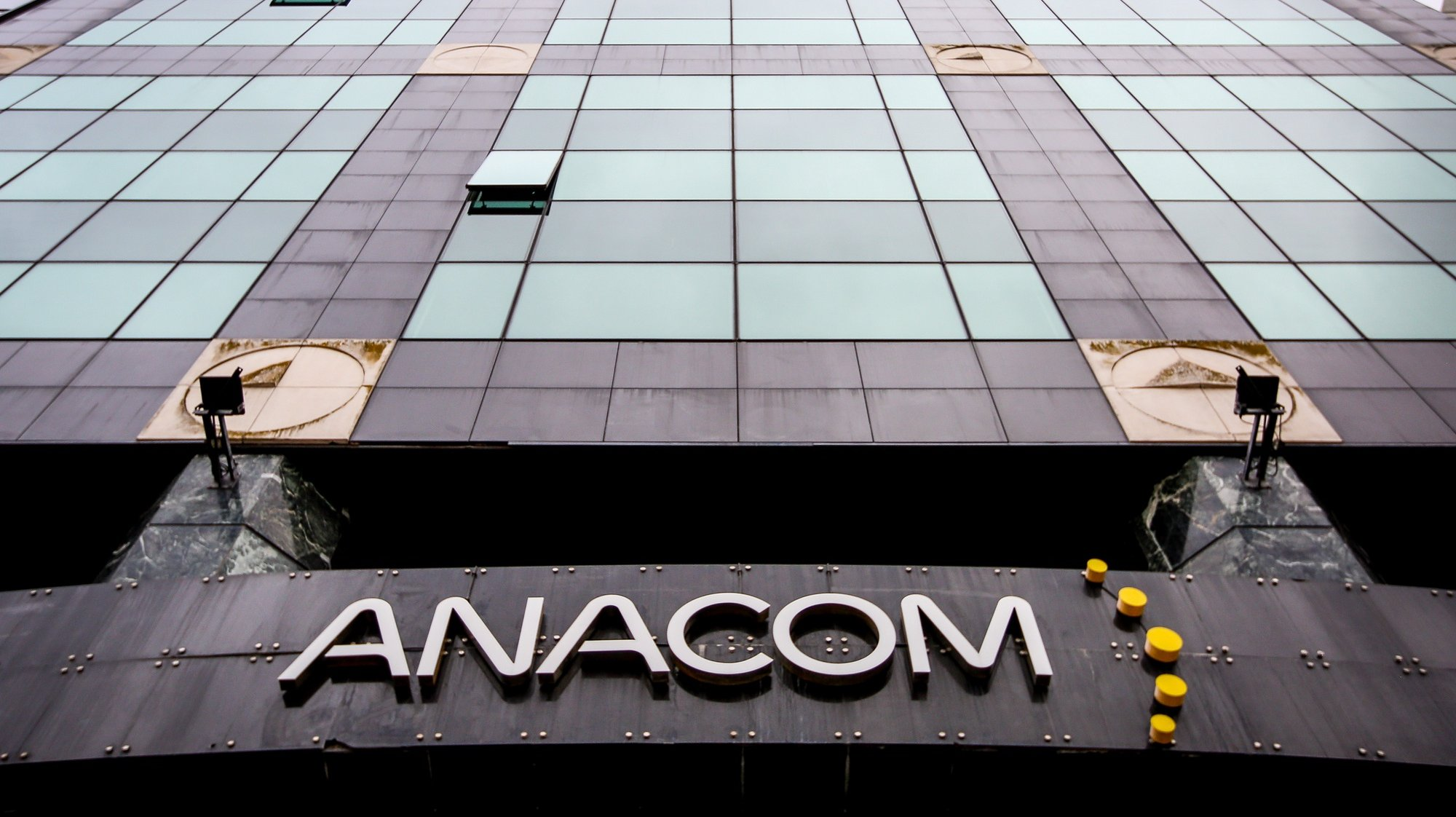 Fachada do edifício da ANACOM, onde foi hoje apresentado o regulamento do leilão do 5G, em Lisboa, 05 de novembro de 2020. NUNO FOX/LUSA