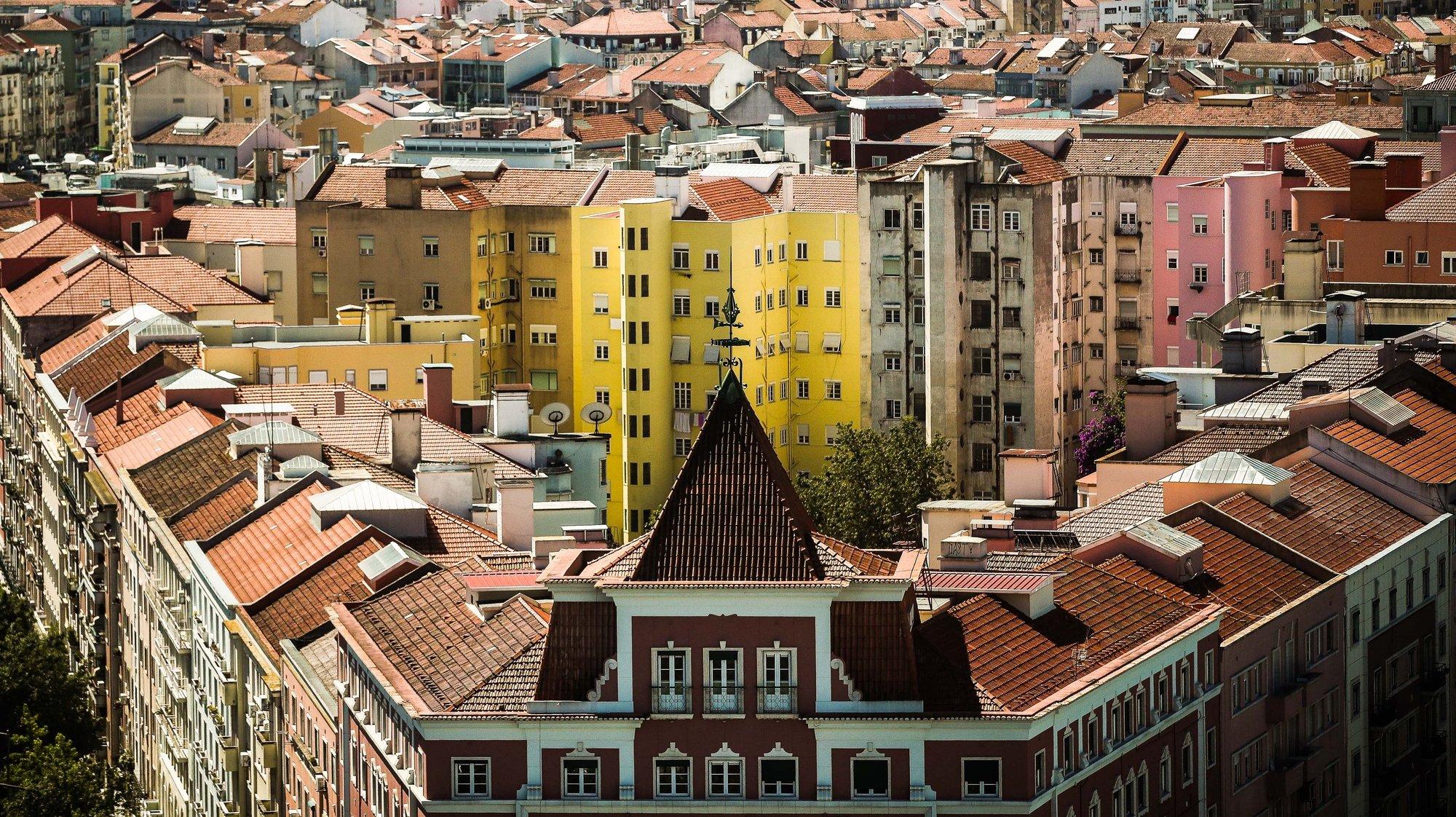 Edifícios de habitação em Lisboa, 2 de julho de 2021. MÁRIO CRUZ/LUSA
