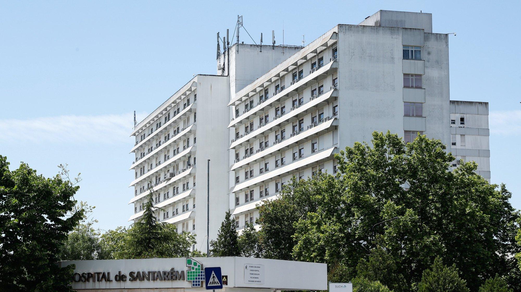 Hospital Distrital de Santarém, que manteve a funcionar o serviço de oncologia apesar das alterações realizadas no HDS para receber doentes covid-19 Santarém, 21 de maio de 2020.ANTÓNIO COTRIM/LUSA