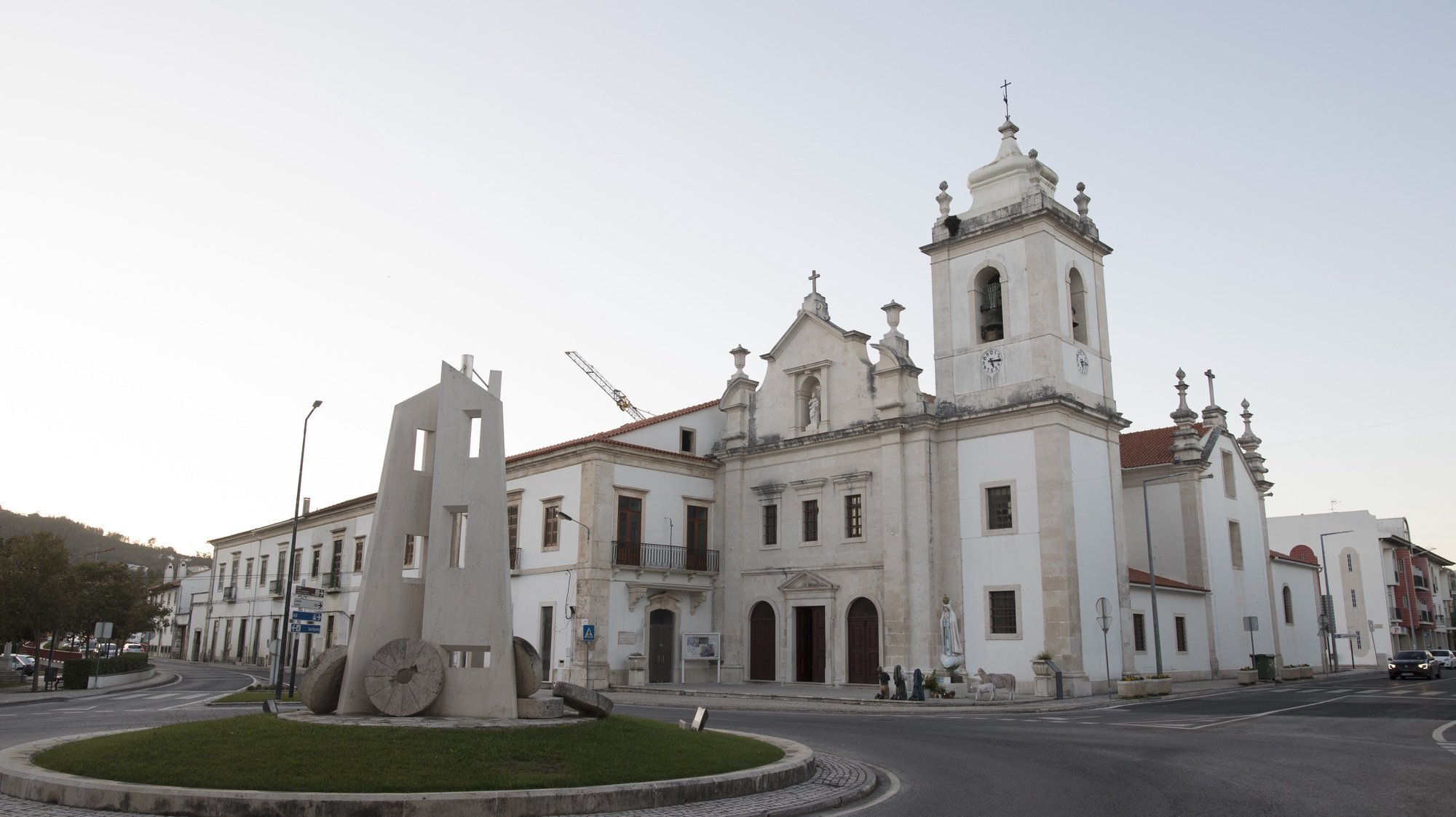 Igreja de São Pedro, Porto de Mós, 5 de novembro de 2017. PAULO CUNHA/LUSA