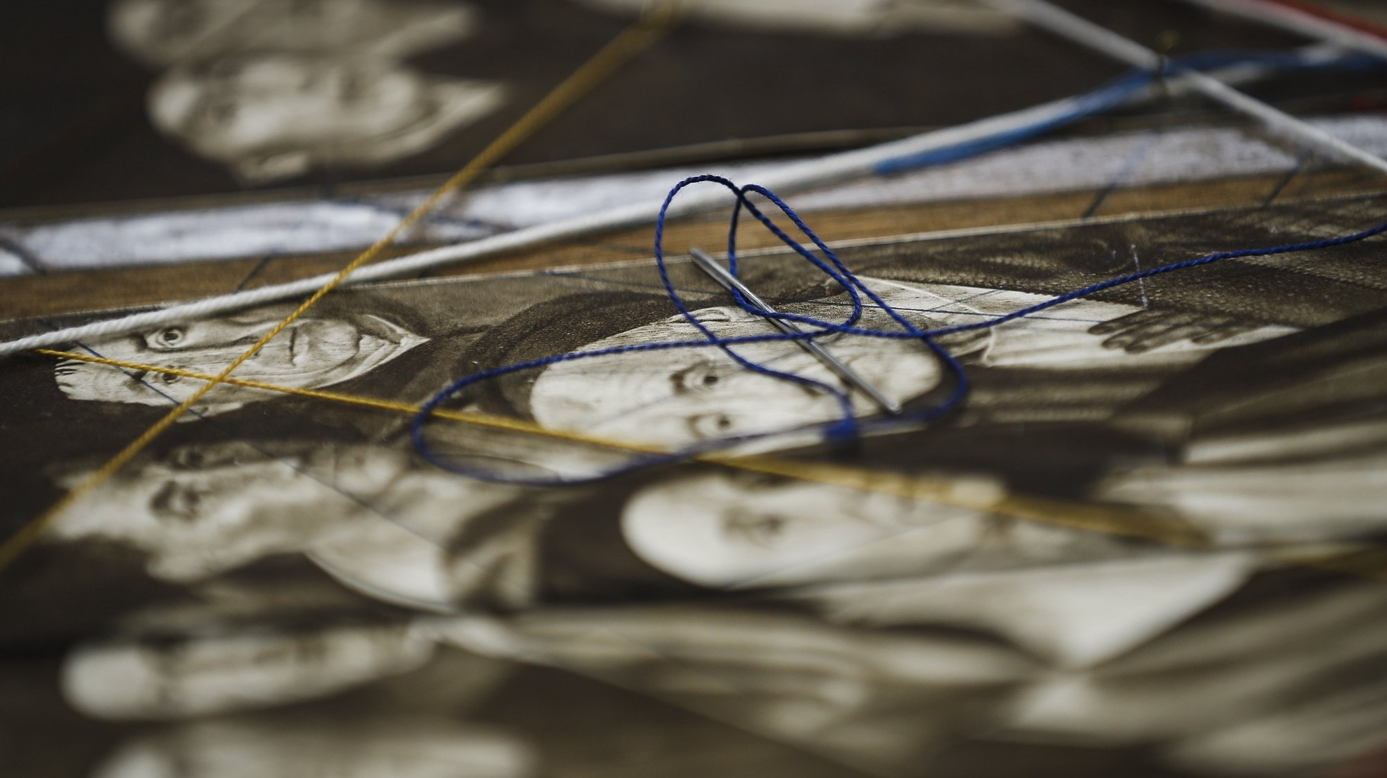 Reportagem sobre restauro de peças do Almada Negreiros, no Instituto José de Figueiredo, em Lisboa, 17 de setembro de 2020. (ACOMPANHA TEXTO DE 19 DE SETEMBRO QUE 2020). RODRIGO ANTUNES/LUSA