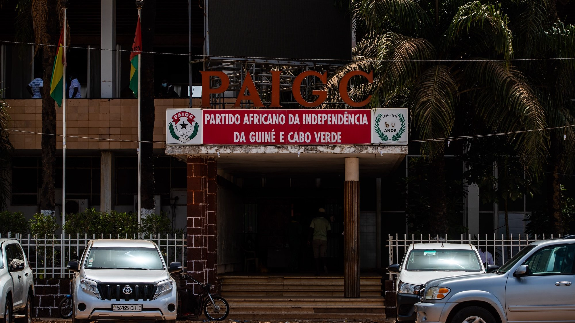 Sede do Partido Africano para a Independência da Guiné e Cabo Verde (PAIGC), em Bissau, na Guiné-Bissau, 16 de maio de 2021. JOSÉ SENA GOULÃO/LUSA