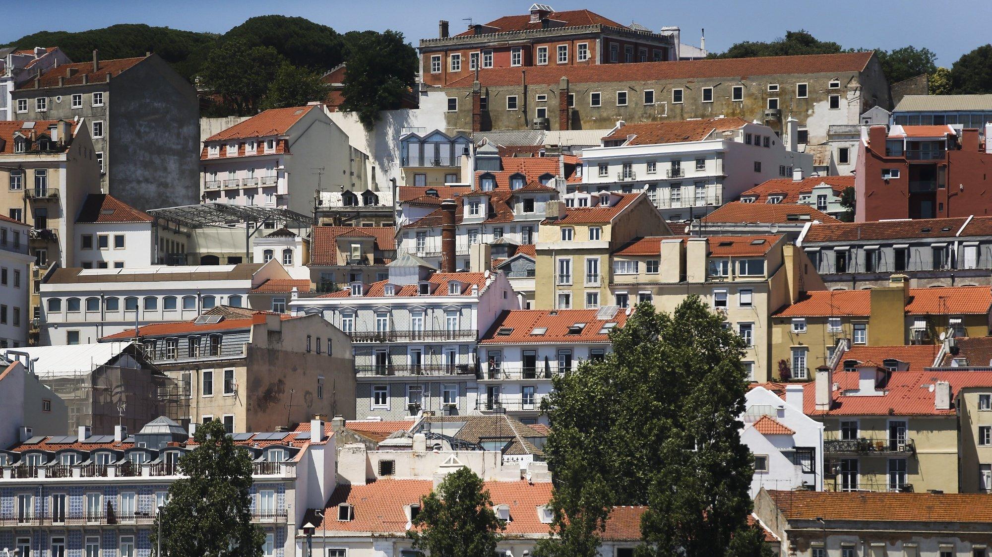 Vista da cidade de Lisboa a partir do rio Tejo, Portugal, 25 de julho de 2016. MÁRIO CRUZ/LUSA