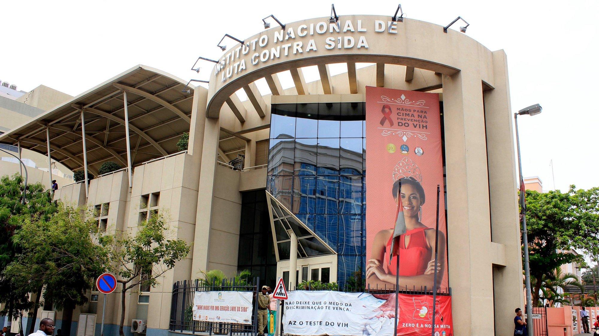 Instituto Nacional da Luta Contra a SIDA (INLCS), em Luanda, Angola, 31 de outubro de 2018. AMPE ROGÉRIO/LUSA