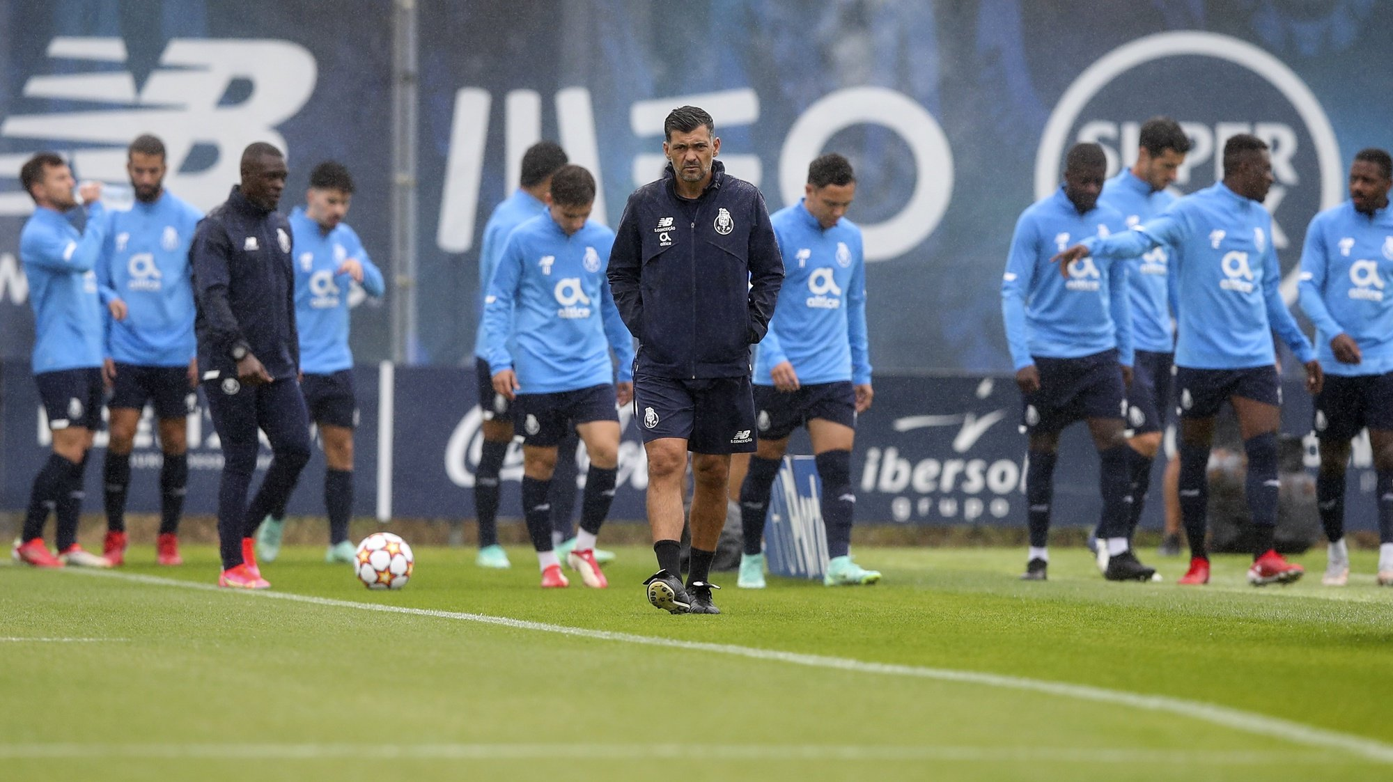 FC Porto's head coach Sergio Conceicao during his team training session at Olival training center, Vila Nova de Gaia, 27th September 2021. FC Porto will face Liverpool in their UEFA Champions L?eague group B stage soccer match on 28th September 2021.JOSE COELHO/LUSA