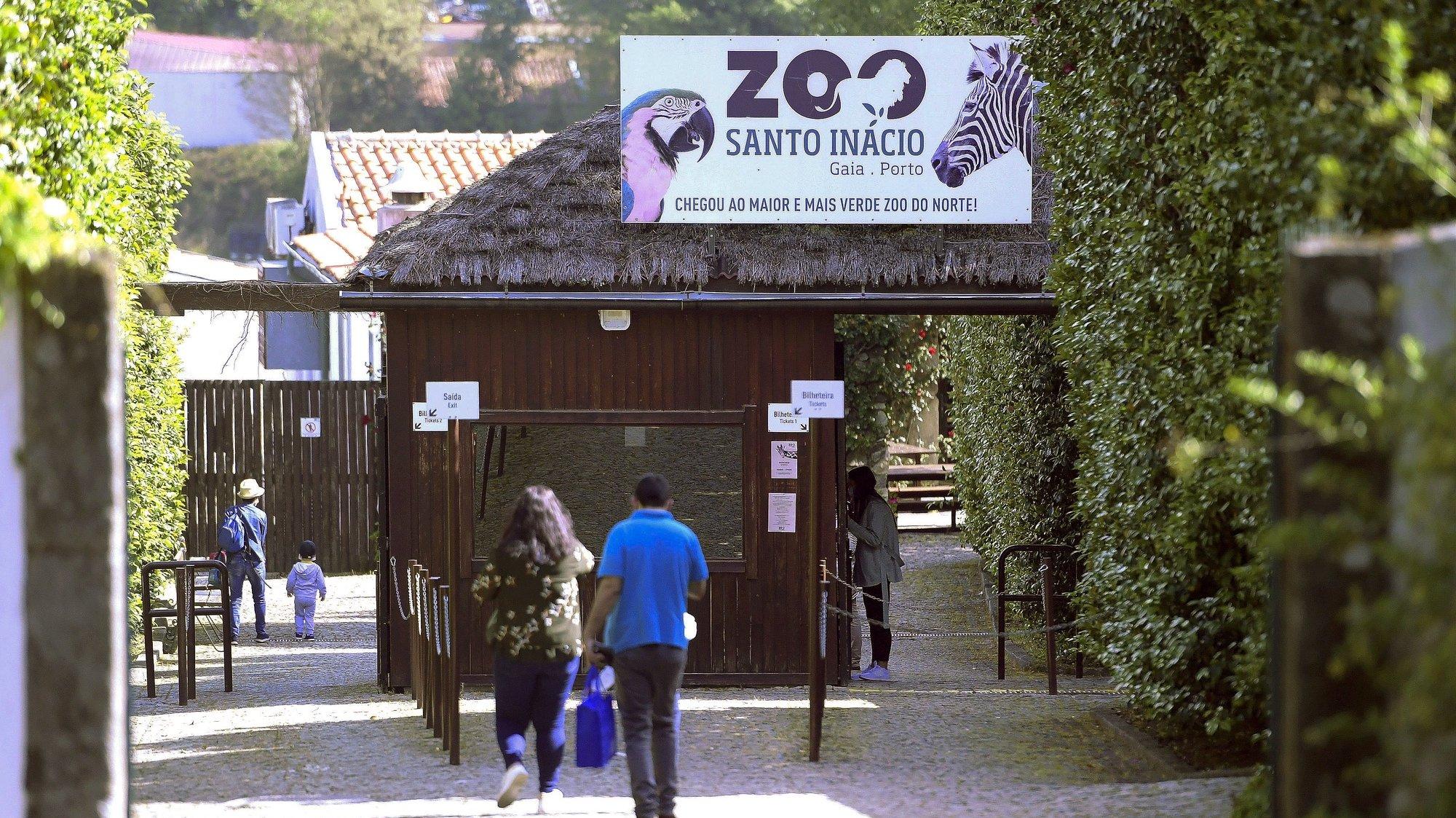 Reabertura do Zoo Santo Inácio após ter estado encerrado devido à pandemia da Covid-19, Avintes, Vila Nova de Gaia, 7 de maio de 2020. FERNANDO VELUDO/LUSA