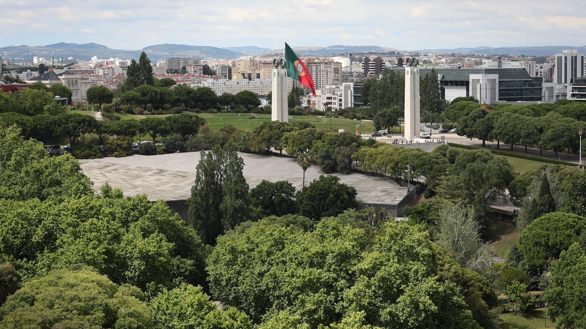 Vista do Parque Eduardo VII, Lisboa, 27 de junho de 2019. ANTÓNIO COTRIM/LUSA