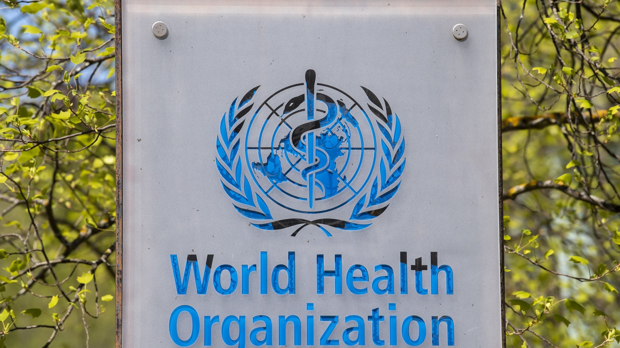 epa08364179 The logo and building of the World Health Organization (WHO) headquarters in Geneva, Switzerland, 15 April 2020. US President Donald Trump announced that he has instructed his administration to halt funding to the WHO. The American president criticizes the World Health Organization for its mismanagement of the Coronavirus pandemic Covid-19.  EPA/MARTIAL TREZZINI