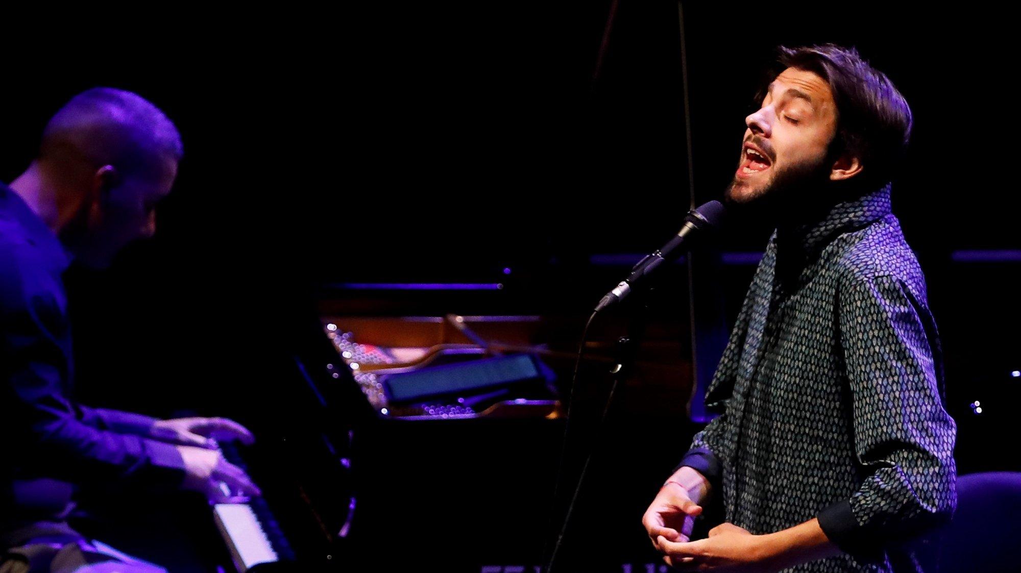 Portuguese singer Salvador Sobral performs at Kursaal auditorium within the San Sebasian Jazz Festival held in San Sebastian, Spain, 24 July 2020. EPA/Javier Etxezarreta