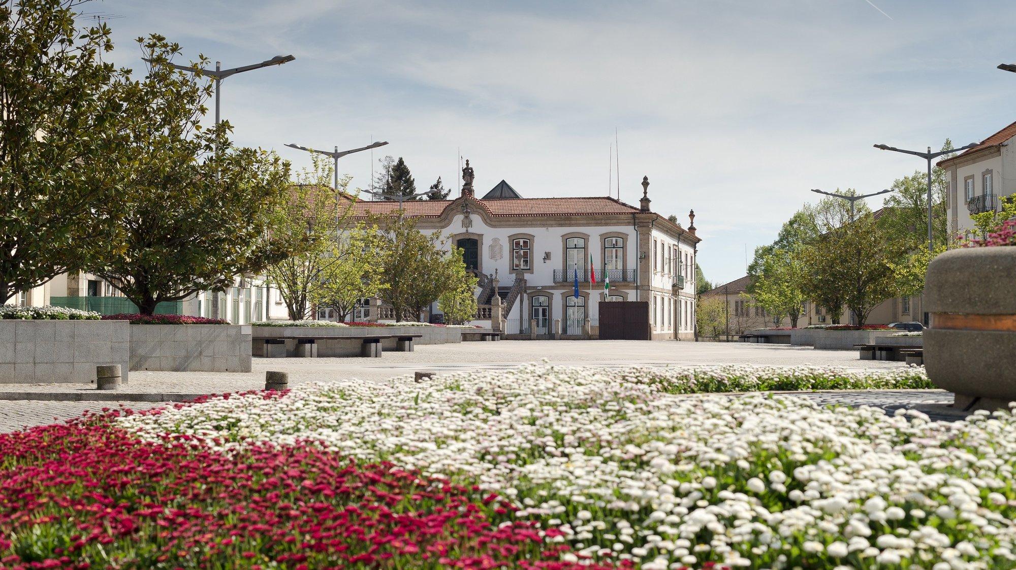 Edifício da Câmara Municipal de Vila Real, concelho e distrito de Vila Real, 9 de abril de 2017. PEDRO SARMENTO COSTA / LUSA
