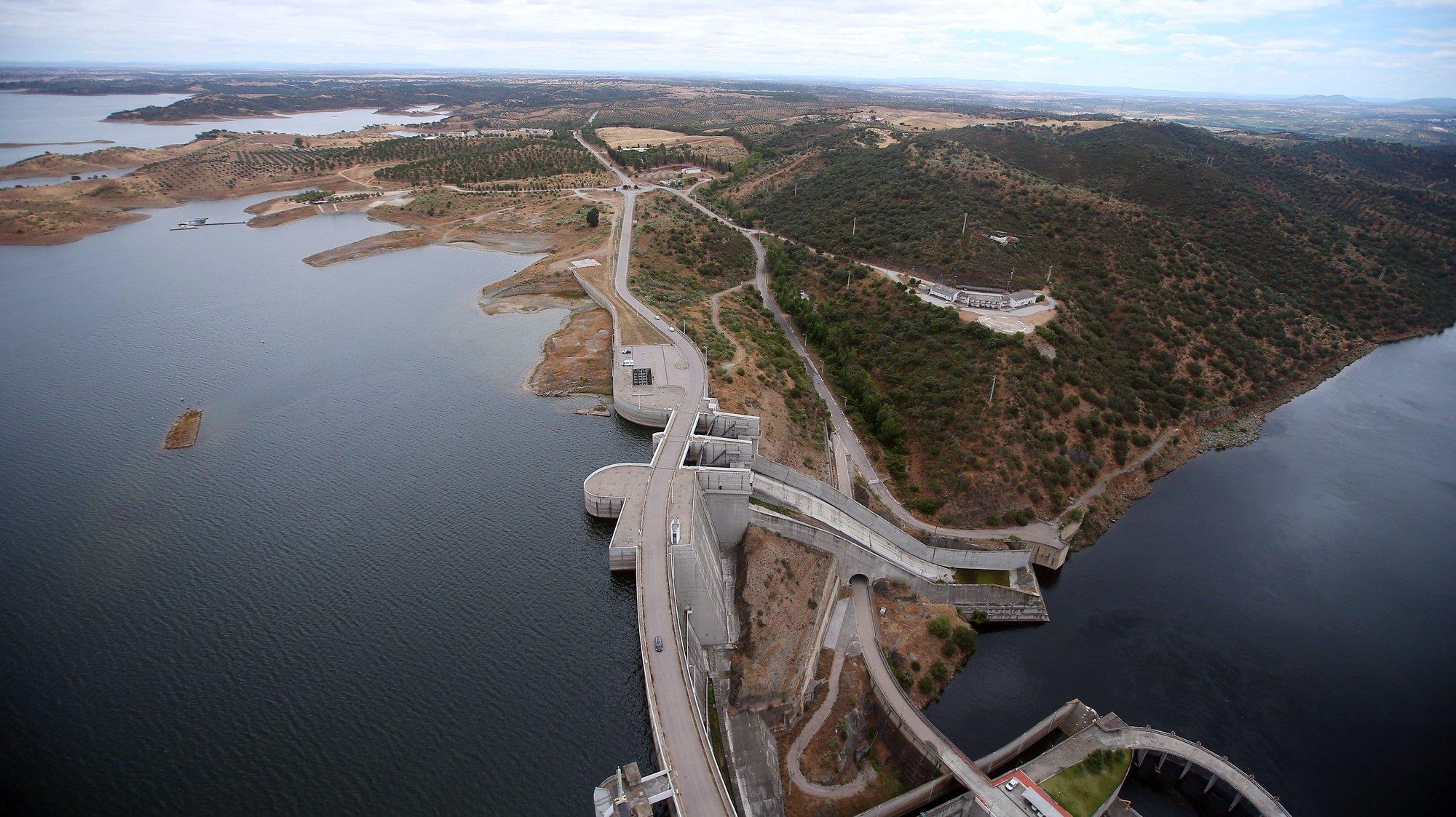 Barragem de Alqueva, 16 de junho de 2020. NUNO VEIGA/LUSA