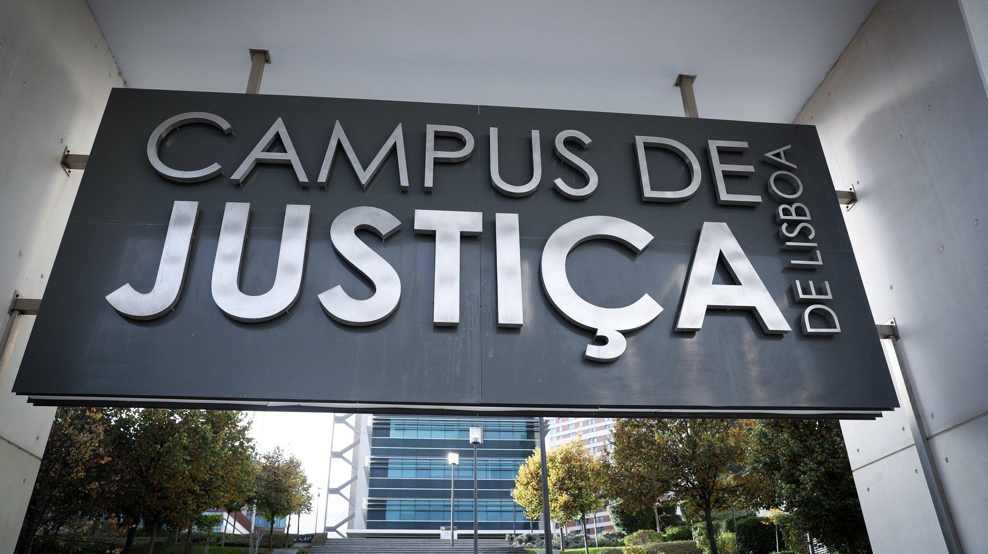 Campus de Justiça de Lisboa, 03 de novembro de 2019. ANTÓNIO COTRIM/LUSA